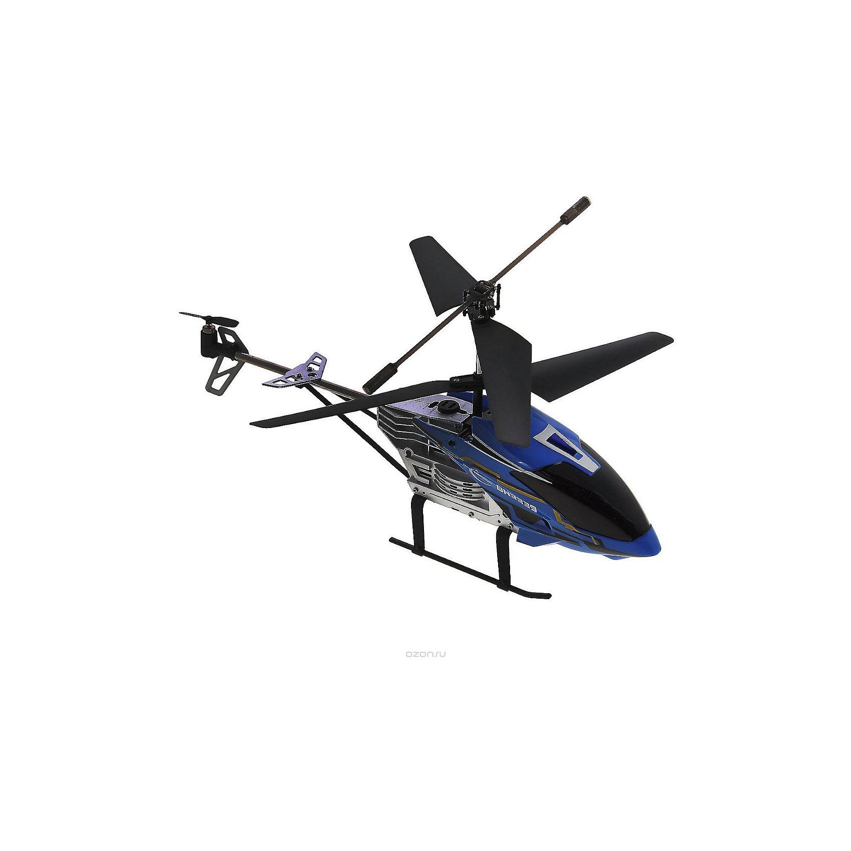 Вертолет на р/у Крепыш с гироскопом и турбоускорением, синий, Властелин небесРадиоуправляемый транспорт<br>Вертолет на р/у Крепыш с гироскопом и турбоускорением, синий, Властелин небес<br><br>Характеристики:<br><br>• два режима скорости<br>• умеет летать вверх, вниз и в разные стороны<br>• может зависать в воздухе благодаря гироскопу<br>• выдерживает нагрузку до 100 кг<br>• очень прочный<br>• радиус работы пульта: до 10 метров<br>• в комплекте: вертолет, ПДУ, аккумулятор, запасные лопасти, зарядное устройство<br>• батарейки: АА - 6 шт. (в комплект не входят)<br>• размер упаковки: 7,5х20х49,5 см<br>• электропитание: мощность 3,7 Вт<br>• размер вертолета: 30х12х14 см<br>• цвет: синий<br><br>Вертолет Крепыш заслужил такое название благодаря прочному и крепкому материалу. Крепыш даже способен выдерживать нагрузки до 100 кг. Вертолет поднимается вверх, опускается вниз, летает вправо и влево, а также зависает в воздухе благодаря гироскопу. Ко всему прочему, Крепыш оснащен функцией турбоускорения. Радиус действия пульта составляет 10 метров. На случай поломки в комплект входят запасные детали.<br>Необходимы батарейки АА, 6 шт. (не входят в комплект)<br><br>Вертолет на р/у Крепыш с гироскопом и турбоускорением, синий, Властелин небес можно купить в нашем интернет-магазине.<br><br>Ширина мм: 75<br>Глубина мм: 495<br>Высота мм: 200<br>Вес г: 670<br>Возраст от месяцев: 144<br>Возраст до месяцев: 2147483647<br>Пол: Мужской<br>Возраст: Детский<br>SKU: 5397080