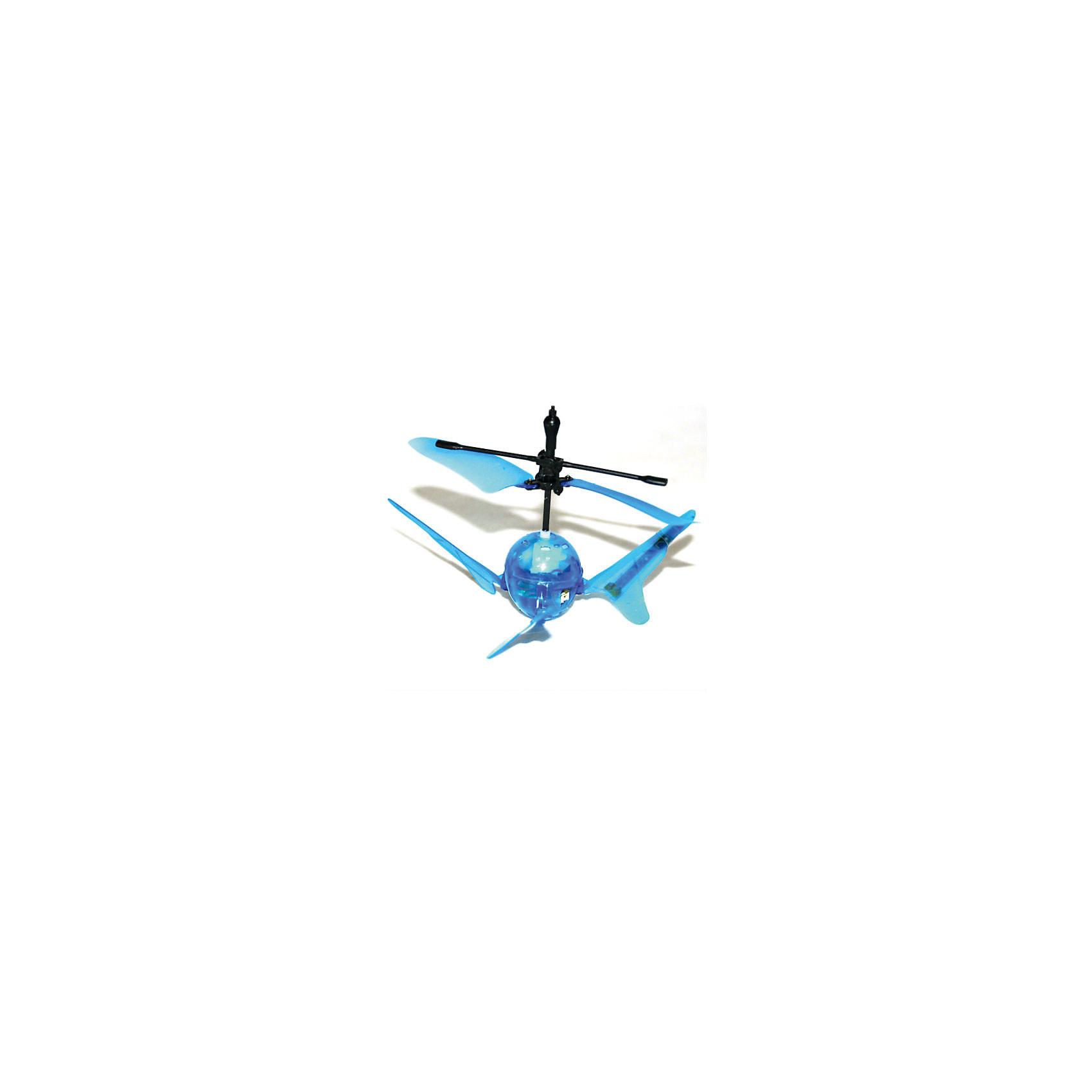 Вертолет Супер Светлячок на и/у со световыми эффектами, голубой, Властелин небесРадиоуправляемый транспорт<br>Вертолет Супер Светлячок на и/у со световыми эффектами, голубой, Властелин небес<br><br>Характеристики:<br><br>• вертолет очень похож на светлячка<br>• светится в темноте<br>• оригинальный дизайн и небольшие размеры<br>• поднимается вверх, опускается вниз и зависает в воздухе<br>• светящиеся сигнальные огни<br>• инфракрасное и сенсорное управление<br>• полная зарядка за 20 минут<br>• расстояние до пульта: 7 метров<br>• вертолет, аккумулятор 3,7V, зарядное устройство<br>• размер вертолета: 9х5х5 см<br>• материал: пластик, металл<br>• вес: 319 грамм<br>• размер упаковки: 15х29,5х16 см<br>• вес: 800 грамм<br>• батарейки для пульта: 3xAA / LR06 1.5V ( в комплекте)<br>• батарейки для зарядного устройства: 8xAA / LR06 1.5V ( в комплект не входят)<br>• цвет: синий<br><br>Супер Светлячок - забавный вертолет на инфракрасном управлении. Своим видом он напоминает маленького светлячка. Также, подобно светлячку, вертолет светится в темноте и освещает помещение сигнальными огнями. Супер Светлячок умеет летать вверх и вниз, а также зависает в воздухе. Есть возможность выбора управления: сенсорное и ручное. Время полета составляет до 10 минут, время полной подзарядки - 20 минут. Вертолет может летать на расстоянии до 7 метров от пульта управления. Супер Светлячок очарует своими огоньками и детей, и взрослых!<br>Для работы необходимы батарейки.<br><br>Вертолет Супер Светлячок на и/у со световыми эффектами, голубой, Властелин небес можно купить в нашем интернет-магазине.<br><br>Ширина мм: 130<br>Глубина мм: 185<br>Высота мм: 155<br>Вес г: 320<br>Возраст от месяцев: 108<br>Возраст до месяцев: 2147483647<br>Пол: Мужской<br>Возраст: Детский<br>SKU: 5397085