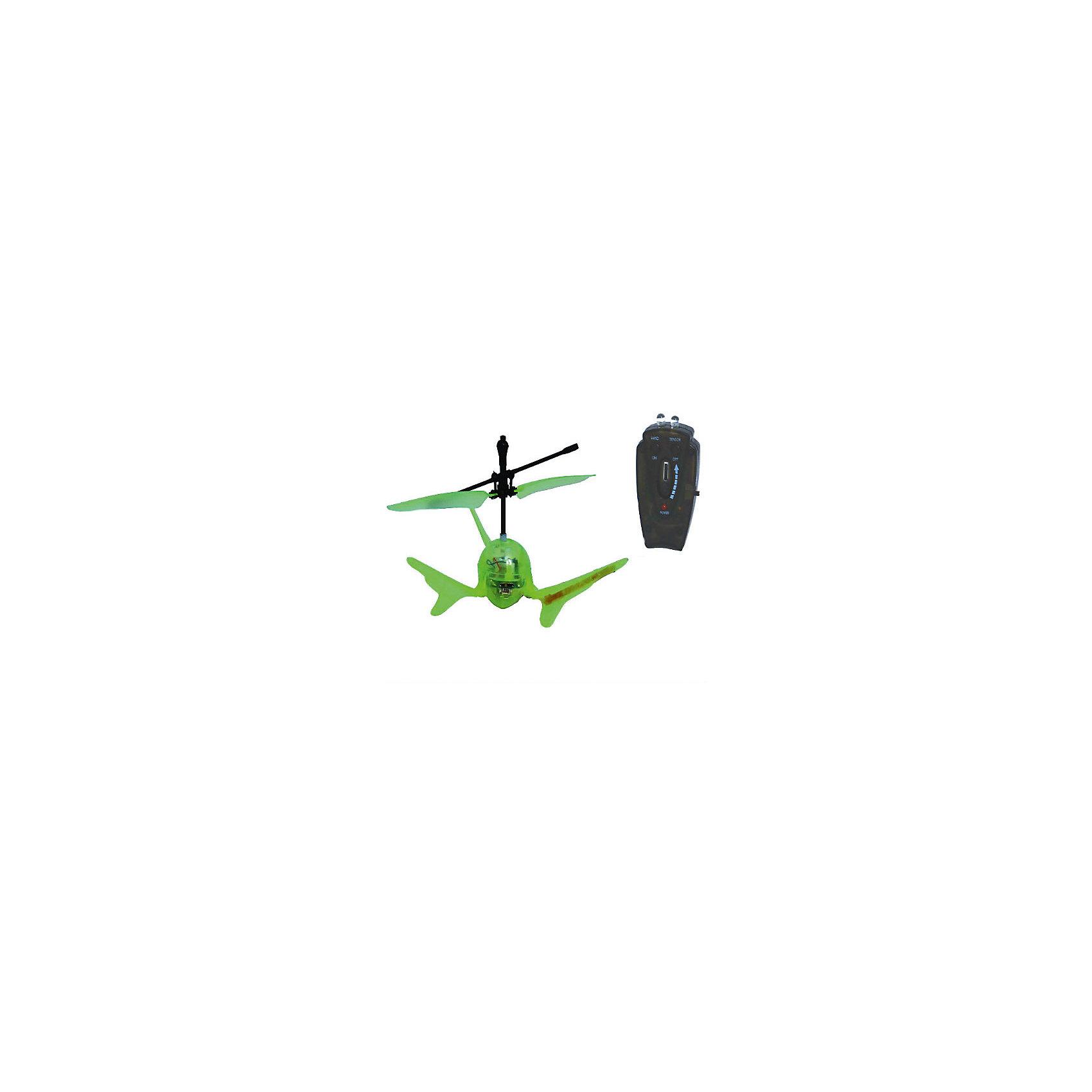Вертолет Супер Светлячок на и/у со световыми эффектами, зеленый, Властелин небесРадиоуправляемый транспорт<br>Вертолет Супер Светлячок на и/у со световыми эффектами, зеленый, Властелин небес<br><br>Характеристики:<br><br>• вертолет очень похож на светлячка<br>• светится в темноте<br>• оригинальный дизайн и небольшие размеры<br>• поднимается вверх, опускается вниз и зависает в воздухе<br>• светящиеся сигнальные огни<br>• инфракрасное и сенсорное управление<br>• полная зарядка за 20 минут<br>• расстояние до пульта: 7 метров<br>• вертолет, аккумулятор 3,7V, зарядное устройство<br>• размер вертолета: 9х5х5 см<br>• материал: пластик, металл<br>• вес: 319 грамм<br>• размер упаковки: 15х29,5х16 см<br>• вес: 800 грамм<br>• батарейки для пульта: 3xAA / LR06 1.5V ( в комплекте)<br>• батарейки для зарядного устройства: 8xAA / LR06 1.5V ( в комплект не входят)<br>• цвет: зеленый<br><br>Супер Светлячок - забавный вертолет на инфракрасном управлении. Своим видом он напоминает маленького светлячка. Также, подобно светлячку, вертолет светится в темноте и освещает помещение сигнальными огнями. Супер Светлячок умеет летать вверх и вниз, а также зависает в воздухе. Есть возможность выбора управления: сенсорное и ручное. Время полета составляет до 10 минут, время полной подзарядки - 20 минут. Вертолет может летать на расстоянии до 7 метров от пульта управления. Супер Светлячок очарует своими огоньками и детей, и взрослых!<br>Для работы необходимы батарейки.<br><br>Вертолет Супер Светлячок на и/у со световыми эффектами, зеленый, Властелин небес можно купить в нашем интернет-магазине.<br><br>Ширина мм: 130<br>Глубина мм: 185<br>Высота мм: 155<br>Вес г: 320<br>Возраст от месяцев: 108<br>Возраст до месяцев: 2147483647<br>Пол: Мужской<br>Возраст: Детский<br>SKU: 5397086