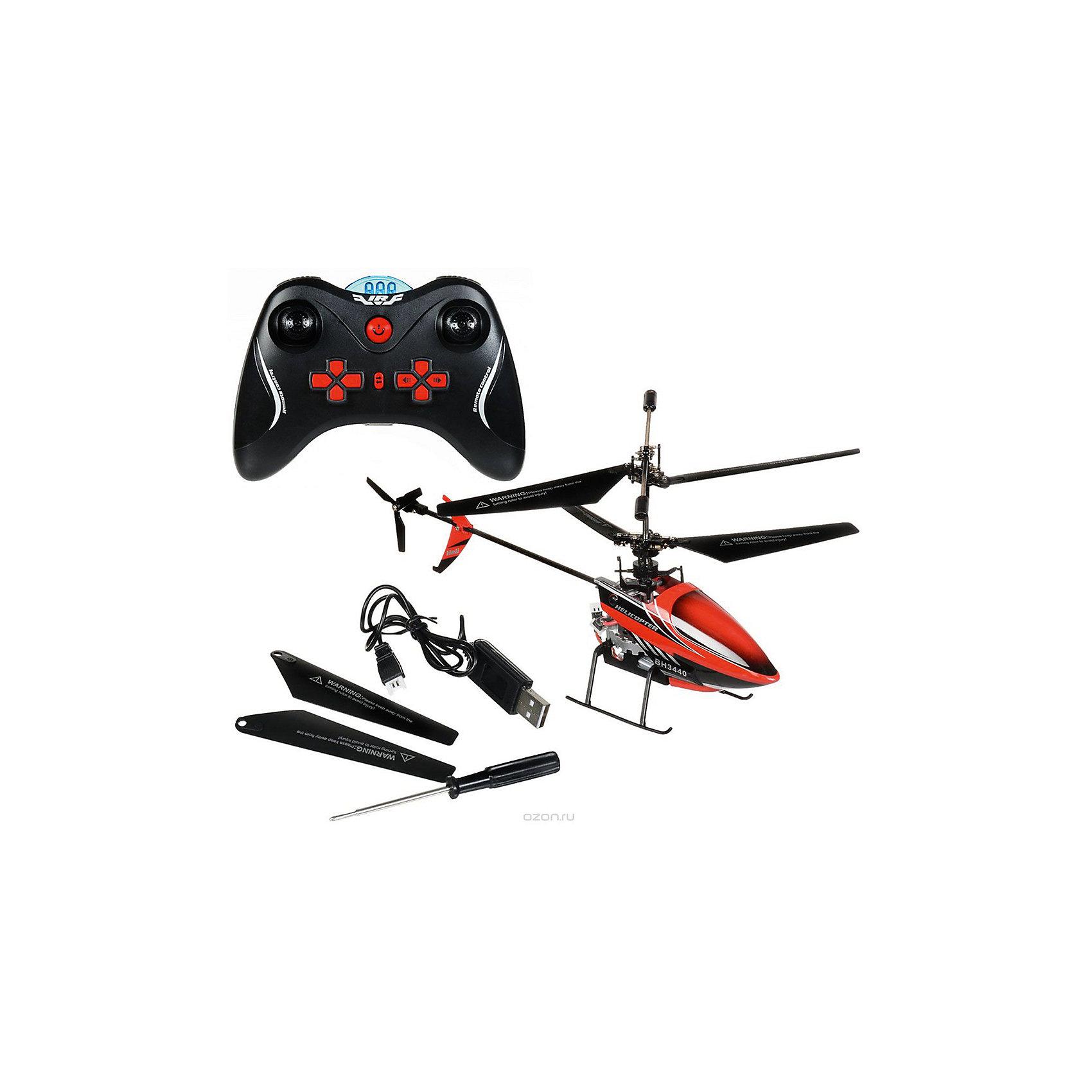 Вертолет на р/у Непоседа, черно-красный, Властелин небесРадиоуправляемый транспорт<br>Вертолет на р/у Непоседа, черно-красный, Властелин небес<br><br>Характеристики:<br><br>• инфракрасное управление<br>• встроенный гироскоп<br>• хорошо обходит препятствия<br>• летает вперед, назад, вниз и вверх<br>• может разворачиваться и зависать в воздухе<br>• светящиеся сигнальные огни для полета в темноте<br>• время полета: 7-8 минут<br>• размер вертолета: 13х27х6 см<br>• размер пульта: 15х11 см<br>• размер упаковки: 36х27х8 см<br>• в комплекте: вертолет, пульт управления, USB кабель, отвертка, запасные лопасти, запасной винт, инструкция<br>• материал: металл, пластик<br>• батарейки: АА - 4 шт. (не входят в комплект)<br>• цвет: черно-красный<br><br>Вертолет Непоседа очень легкий и маневренный. Он хорошо обходит препятствия и выполняет любые команды, полученные с пульта управления. Непоседа может летать вверх, вниз, вперед и назад. Кроме того, он умеет разворачиваться и зависать в воздухе. Встроенный гироскоп обеспечивает стабилизацию во время полета. Для игры в темноте предусмотрены светящиеся сигнальные огни. Вы без труда найдете игрушку и будете наслаждаться ярким освещением. Вертолет можно подзарядить от пульта и USB кабеля. Время игры - 8 минут.<br>Для работы пульта необходимы четыре батарейки АА ( не входят в комплект).<br><br>Вертолет на р/у Непоседа, черно-красный, Властелин небес вы можете купить в нашем интернет-магазине.<br><br>Ширина мм: 80<br>Глубина мм: 360<br>Высота мм: 270<br>Вес г: 690<br>Возраст от месяцев: 96<br>Возраст до месяцев: 2147483647<br>Пол: Мужской<br>Возраст: Детский<br>SKU: 5397095