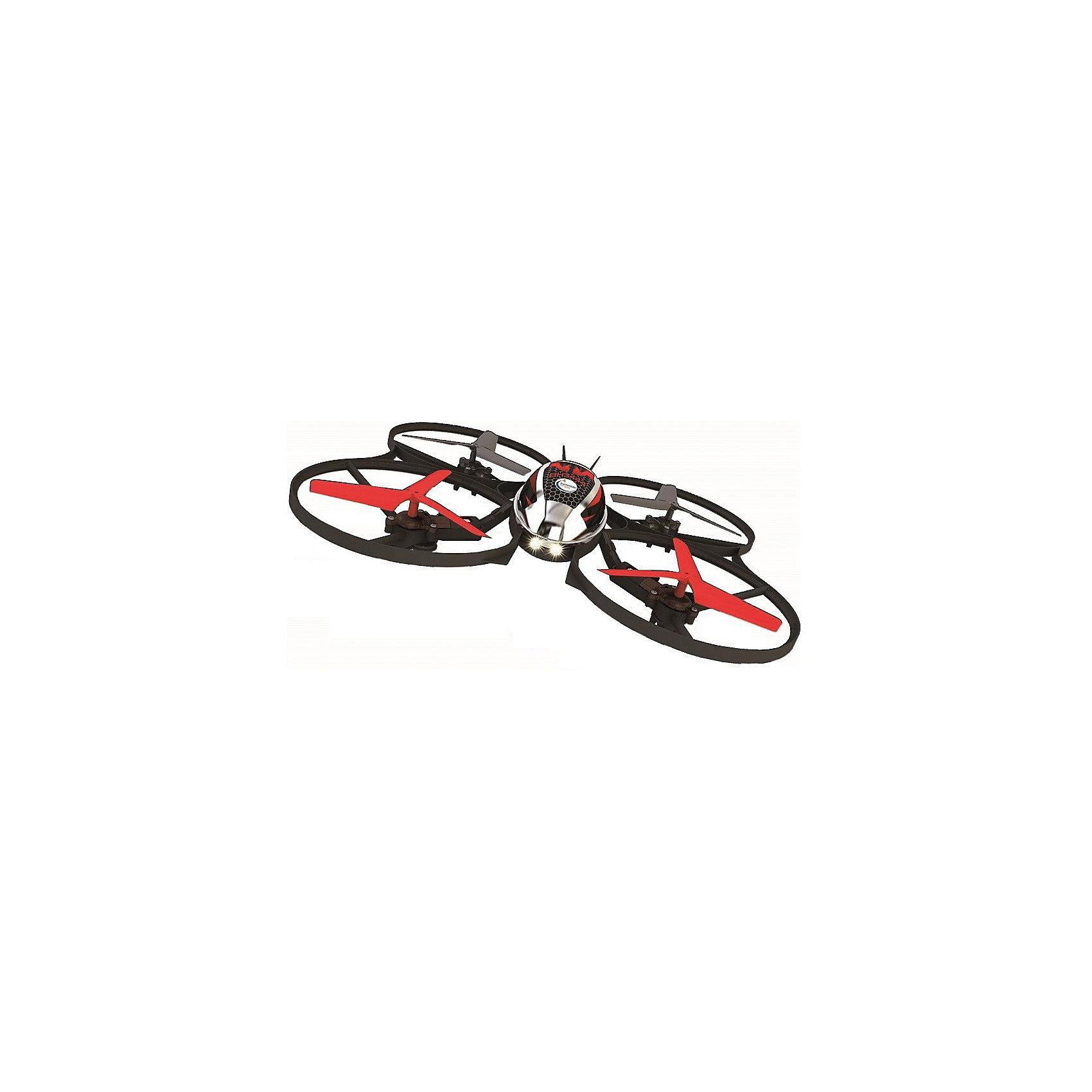 Квадрокоптер р/у MINI-Коптер, Властелин небесРадиоуправляемый транспорт<br>Квадрокоптер р/у MINI-Коптер, Властелин небес<br><br>Характеристики:<br><br>• летает в любом направлении<br>• поворачивается вокруг своей оси и зависает в воздухе<br>• яркие огни<br>• корпус из прочного пластика<br>• дальность управления: 30-70 метров<br>• время игры: 10 минут<br>• время зарядки: 50 минут<br>• размер игрушки: 14х16х4 см<br>• материал: металл, пластик<br>• питание: 3.7 аккумулятор Li-poli<br>• частота р/у: 2,4 ГГц<br>• размер упаковки: 23х17х26 см<br>• вес: 440 грамм<br>• батарейки: АА - 6 шт. (не входят в комплект)<br><br>Квадрокоптер поможет вам весело провести время и дома, и на улице! MINI-коптер управляется с помощью пульта, движется в любом направлении, переворачивается вокруг свои оси. Встроенный гироскоп позволяет игрушке зависать в воздухе и обеспечивает стабильность полета. Дальность управления зависит от погодных условий и составляет от 30 до 70 метров. Время игры при полной зарядке - 10 минут. Для подзарядки вам потребуется 50 минут. Корпус изготовлен из прочного пластика, которому не страшны случайные падения.<br>Для работы необходимы шесть батареек АА (не входят в комплект).<br><br>Квадрокоптер р/у MINI-Коптер, Властелин небес можно купить в нашем интернет-магазине.<br><br>Ширина мм: 165<br>Глубина мм: 235<br>Высота мм: 255<br>Вес г: 1100<br>Возраст от месяцев: 144<br>Возраст до месяцев: 2147483647<br>Пол: Мужской<br>Возраст: Детский<br>SKU: 5397096