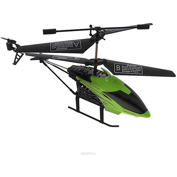 Вертолет на р/у Ветерок, зеленый, Властелин небесРадиоуправляемые вертолёты<br>Вертолет на р/у Ветерок, зеленый, Властелин небес<br><br>Характеристики:<br><br>• летает вверх, вниз, влево и вправо<br>• поворачивается, вращается и зависает в воздухе<br>• яркий прожектор<br>• встроенный гироскоп<br>• устойчив к повреждениям<br>• время игры: 7 минут<br>• время зарядки: 30 минут<br>• размер игрушки: 23х5х12 см<br>• размер пульта: 13х11х5 см<br>• радиус действия: 10 метров<br>• в комплекте: вертолет, пульт управления, зарядное устройство, инструкция<br>• батарейки: АА - 6 шт. (не входят в комплект)<br>• размер упаковки: 44х17х8 см<br>• вес: 540 грамм<br>• цвет: зеленый<br><br>Вертолет Ветерок - прекрасный подарок для детей и взрослый. Вертолет управляется с помощью пульта и умеет летать вправо, влево, вверх и вниз. Ветерок разворачивается, вращается, а благодаря встроенному гироскопу, парит в воздухе. Прочная конструкция защищает игрушку от повреждений при случайных падениях. Яркий светящийся прожектор освещает путь вертолета в темноте. Выглядит это очень завораживающе! Время работы игрушки при полной зарядке около 10 минут. Зарядите вертолет в течение получайся и наслаждайтесь прекрасным 3D полетом Ветерка!<br>Для работы необходимы 6 батареек АА (не входят в комплект).<br><br>Вертолет на р/у Ветерок, зеленый, Властелин небес вы можете купить в нашем интернет-магазине.<br><br>Ширина мм: 75<br>Глубина мм: 430<br>Высота мм: 170<br>Вес г: 575<br>Возраст от месяцев: 144<br>Возраст до месяцев: 2147483647<br>Пол: Мужской<br>Возраст: Детский<br>SKU: 5397102
