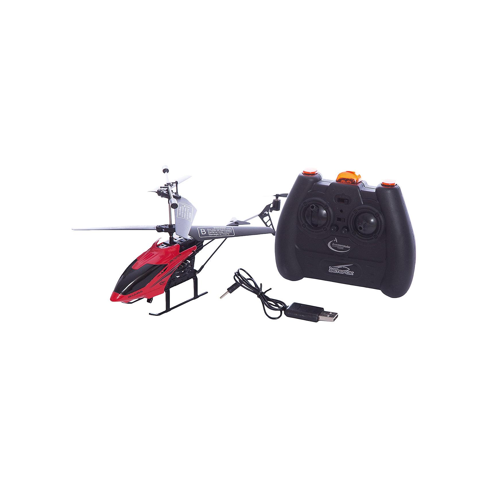 Вертолет на р/у Ветерок, красный, Властелин небесРадиоуправляемый транспорт<br>Вертолет на р/у Ветерок, красный, Властелин небес<br><br>Характеристики:<br><br>• летает вверх, вниз, влево и вправо<br>• поворачивается, вращается и зависает в воздухе<br>• яркий прожектор<br>• встроенный гироскоп<br>• устойчив к повреждениям<br>• время игры: 7 минут<br>• время зарядки: 30 минут<br>• размер игрушки: 23х5х12 см<br>• размер пульта: 13х11х5 см<br>• радиус действия: 10 метров<br>• в комплекте: вертолет, пульт управления, зарядное устройство, инструкция<br>• батарейки: АА - 6 шт. (не входят в комплект)<br>• размер упаковки: 44х17х8 см<br>• вес: 540 грамм<br>• цвет: красный<br><br>Вертолет Ветерок - прекрасный подарок для детей и взрослый. Вертолет управляется с помощью пульта и умеет летать вправо, влево, вверх и вниз. Ветерок разворачивается, вращается, а благодаря встроенному гироскопу, парит в воздухе. Прочная конструкция защищает игрушку от повреждений при случайных падениях. Яркий светящийся прожектор освещает путь вертолета в темноте. Выглядит это очень завораживающе! Время работы игрушки при полной зарядке около 10 минут. Зарядите вертолет в течение получайся и наслаждайтесь прекрасным 3D полетом Ветерка!<br>Для работы необходимы 6 батареек АА (не входят в комплект).<br><br>Вертолет на р/у Ветерок, красный, Властелин небес вы можете купить в нашем интернет-магазине.<br><br>Ширина мм: 75<br>Глубина мм: 430<br>Высота мм: 170<br>Вес г: 575<br>Возраст от месяцев: 144<br>Возраст до месяцев: 2147483647<br>Пол: Мужской<br>Возраст: Детский<br>SKU: 5397103