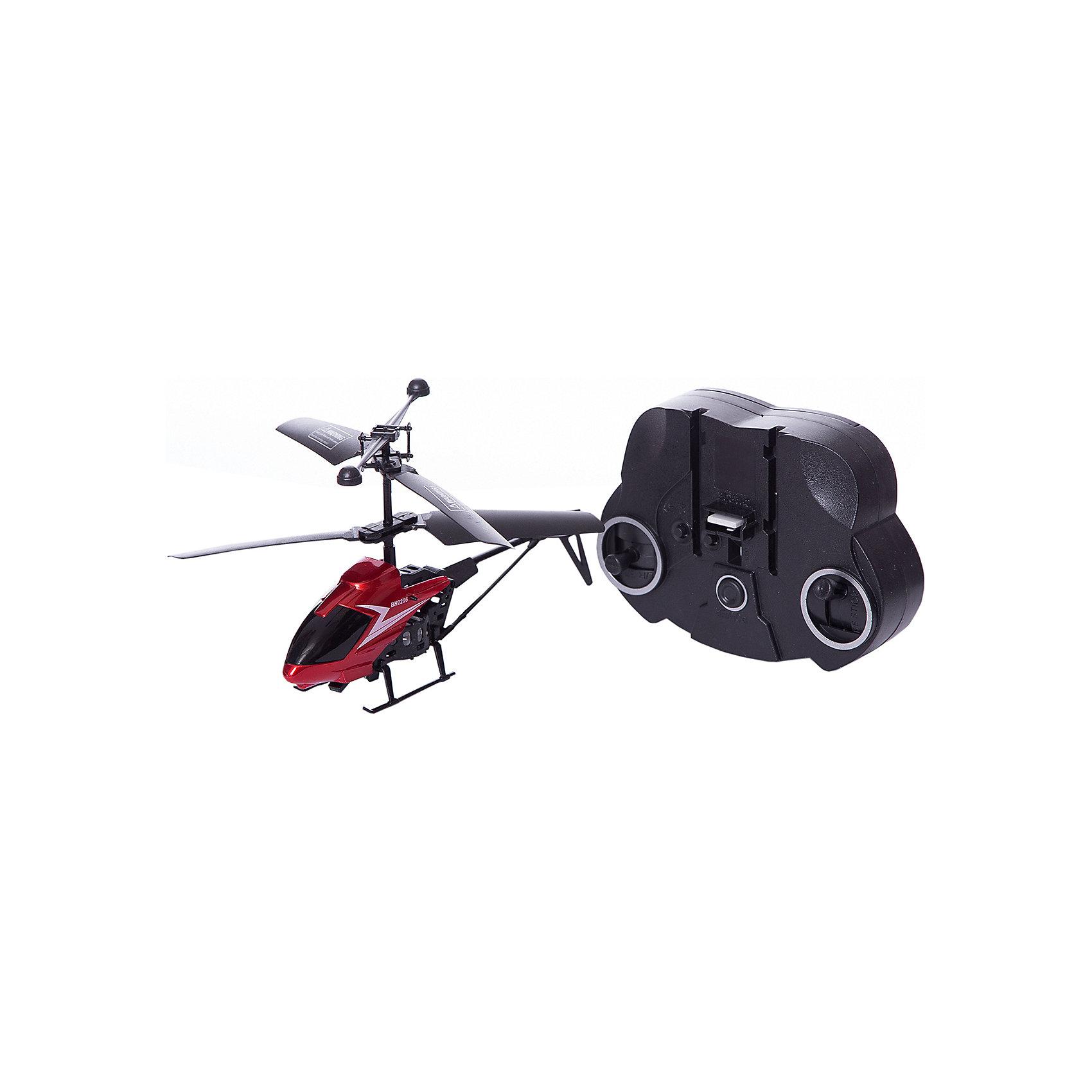 Радиоуправляемый вертолет Пчелка на и/у, Властелин небесРадиоуправляемый транспорт<br>Радиоуправляемый вертолет Пчелка на и/у, Властелин небес<br><br>Характеристики:<br><br>• летает вверх, вниз, влево и вправо<br>• поворачивается, вращается и зависает в воздухе<br>• светящиеся сигнальные огни<br>• встроенный гироскоп<br>• время игры: 6 минут<br>• длина вертолета: 30 см<br>• радиус действия: 10 метров<br>• в комплекте: вертолет, пульт управления, инструкция<br>• батарейки: АА - 4 шт. (не входят в комплект)<br>• размер упаковки: 32х14х6 см<br>• вес: 180 грамм<br><br>Вертолёт Пчёлка подарит много радости и положительных эмоций вашему ребенку! Вертолёт умеет летать вверх, вниз, вправо и влево, а также разворачивается вокруг своей оси. Встроенный гироскоп стабилизирует полет и позволяет игрушке висеть в воздухе. Время игры при полной зарядке - 6 минут.<br>Для работы необходимы 4 батарейки АА (не входят в комплект)<br><br>Радиоуправляемый вертолет Пчелка на и/у, Властелин небес можно купить в нашем интернет-магазине.<br><br>Ширина мм: 50<br>Глубина мм: 300<br>Высота мм: 125<br>Вес г: 250<br>Возраст от месяцев: 144<br>Возраст до месяцев: 2147483647<br>Пол: Мужской<br>Возраст: Детский<br>SKU: 5397107