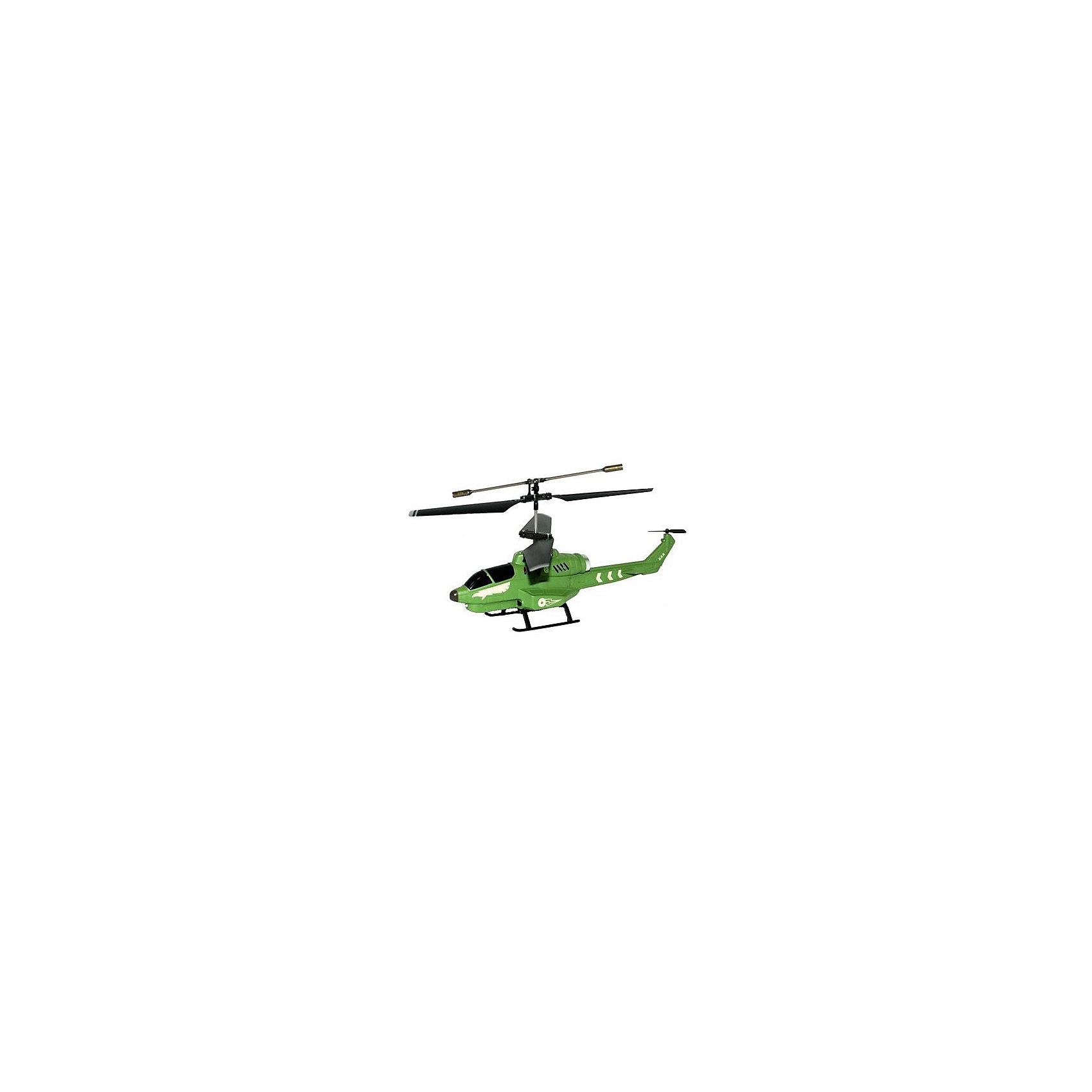 Вертолет Боец на р/у, Властелин небесВертолет Боец на р/у, Властелин небес<br><br>Характеристики:<br><br>• инфракрасное управление<br>• летает вверх, вниз, вперёд и назад<br>• парит в воздухе<br>• светящиеся сигнальные огни<br>• дальность действия: 10 метров<br>• время зарядки: 30 минут<br>• материал: пластик, металл<br>• размер игрушки: 8х17х43 см<br>• питание: 3.7 аккумулятор Li-poli<br>• размер упаковки: 5х11х20 см<br>• батарейки: АА - 6 шт. (не входят в комплект)<br><br>Вертолёт Боец - настоящая находка для поклонников игрушек с радиоуправлением. Боец послушно выполняет команды с пульта, следуя вниз, вверх, вперёд и назад. Благодаря встроенному гироскопу вертолёт способен зависать в воздухе и летать ровно. Игрушка оснащена светящимися огнями, которые позволяют играть даже в темноте. Время полной подзарядки составляет всего полчаса, а время игры до 10 минут. <br>Для работы необходимы 6 батареек АА (не входят в комплект).<br><br>Вертолет Боец на р/у, Властелин небес вы можете купить в нашем интернет-магазине.<br><br>Ширина мм: 90<br>Глубина мм: 430<br>Высота мм: 170<br>Вес г: 670<br>Возраст от месяцев: 108<br>Возраст до месяцев: 2147483647<br>Пол: Мужской<br>Возраст: Детский<br>SKU: 5397108