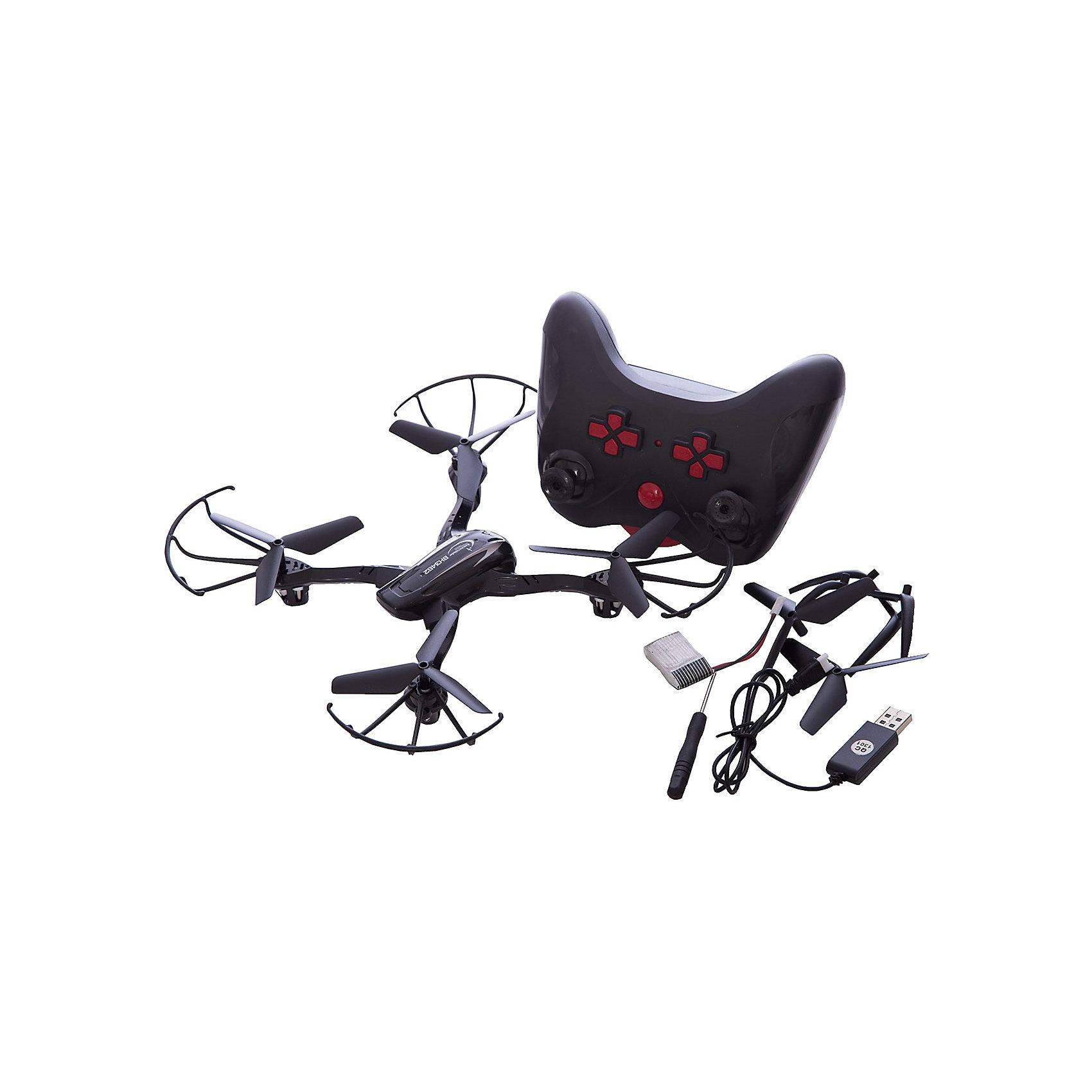 Квадрокоптер р/у Кречет, Властелин небесРадиоуправляемый транспорт<br>Квадрокоптер р/у Кречет, Властелин небес<br><br>Характеристики:<br><br>• летает в любом направлении<br>• поворачивается вокруг своей оси и зависает в воздухе<br>• яркие огни<br>• корпус из прочного пластика<br>• время игры: 8 минут<br>• время зарядки: 60 минут<br>• размер игрушки: 21,5х21,5х4 см<br>• материал: металл, пластик<br>• частота р/у: 2,4 МГц<br>• размер упаковки: 45х26х8 см<br>• вес: 510 грамм<br>• батарейки: АА - 4 шт. (не входят в комплект)<br>• в комплекте: квадрокоптер, пульт управления, 2 запасных пропеллера, 2 ножки, кабель USB, аккумулятор, отвертка, инструкция<br><br>Квадрокоптер Кречет - незабываемый подарок для детей и взрослых. Он способен летать в любую сторону и разворачиваться на 360 градусов. Встроенный гироскоп обеспечит стабильный полет и возможность зависания в воздухе. Квадрокоптер оснащен функцией автовозврата и автоориентации, что делает игрушку еще более удобной и интересной. На случай поломки предусмотрены дополнительные детали. Яркие огоньки позволят вам наблюдать за красивым полетом даже в темноте. Корпус выполнен из прочного пластика, устойчивого к повреждениям. <br>Для работы необходимы четыре батарейки АА (Не входят в комплект).<br><br>Квадрокоптер р/у Кречет, Властелин небес вы можете купить в нашем интернет-магазине.<br><br>Ширина мм: 70<br>Глубина мм: 435<br>Высота мм: 255<br>Вес г: 670<br>Возраст от месяцев: 144<br>Возраст до месяцев: 2147483647<br>Пол: Мужской<br>Возраст: Детский<br>SKU: 5397114