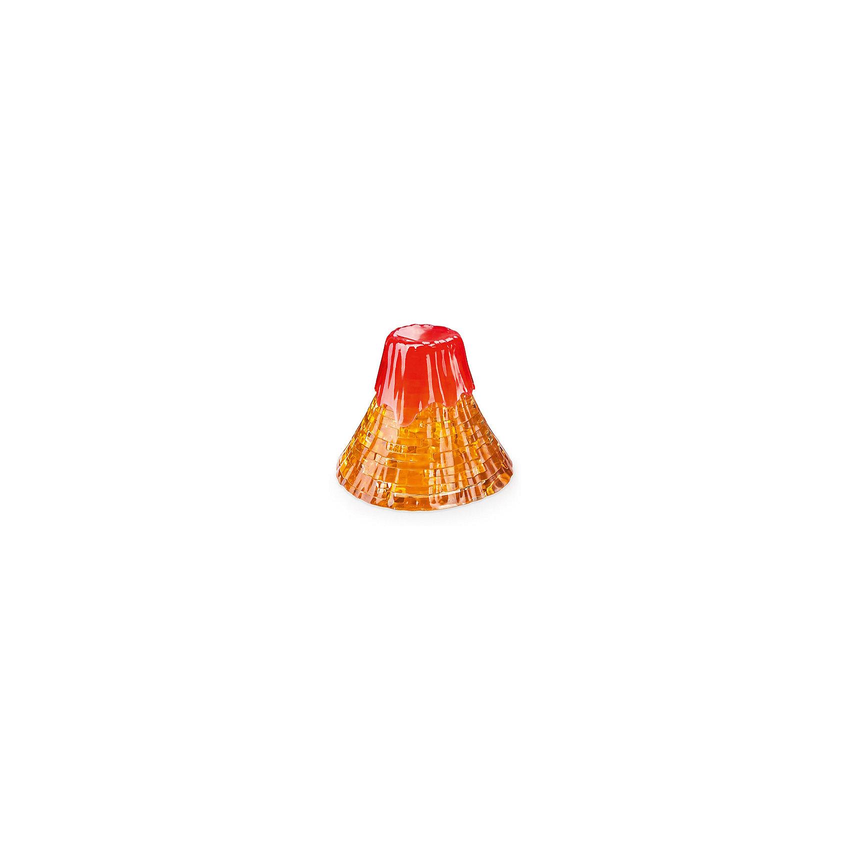 Кристаллический пазл 3D Вулкан, Crystal Puzzle3D пазлы<br>Кристаллический пазл 3D Вулкан, Crystal Puzzle (Кристал Пазл)<br><br>Характеристики:<br><br>• яркий объемный пазл<br>• размер готовой фигурки: 8 см<br>• количество деталей: 40<br>• сложность: средняя<br>• размер упаковки: 14х10х5 см<br>• вес: 208 грамм<br>• материал: пластик<br><br>Собирая пазлы, ребёнок развивает логику и пространственное мышление. Чтобы игра была ещё интересней, предложите малышу собрать необычный 3D пазл. В комплект Вулкан входят 40 деталей из пластика. Подробная инструкция расскажет как правильно собирать детали, чтобы получилась фигурка вулкана. Последний пазл соединит всю конструкцию, и вы сможете наслаждаться прекрасным видом красивого вулкана, который очень напоминает настоящий. Также вы сможете украсить комнату ребёнка готовой фигуркой.<br><br>Кристаллический пазл 3D Вулкан, Crystal Puzzle (Кристал Пазл) вы можете купить в нашем интернет-магазине.<br><br>Ширина мм: 100<br>Глубина мм: 140<br>Высота мм: 50<br>Вес г: 208<br>Возраст от месяцев: 120<br>Возраст до месяцев: 2147483647<br>Пол: Унисекс<br>Возраст: Детский<br>SKU: 5397220