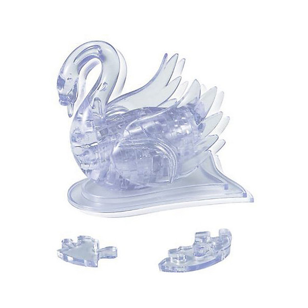 Кристаллический пазл 3D Лебедь, Crystal Puzzle3D пазлы<br>Кристаллический пазл 3D Лебедь, Crystal Puzzle (Кристал Пазл)<br><br>Характеристики:<br><br>• яркий объемный пазл<br>• размер готовой фигурки: 8 см<br>• количество деталей: 44<br>• сложность: средняя<br>• размер упаковки: 5х14х10 см<br>• вес: 235 грамм<br>• материал: пластик<br><br>3D пазлы - отличный повод провести время с пользой. В комплект входят 44 детали, собрав которые ребёнок создаст для себя сверкающую объемную игрушку в виде прекрасного лебедя. Кроме того, собирание пазлов поможет развить пространственное мышление, логику и усидчивость. Готовая фигурка станет украшением детской комнаты или прекрасным дополнением к коллекции игрушек.<br><br>Кристаллический пазл 3D Лебедь, Crystal Puzzle (Кристал Пазл) можно купить в нашем интернет-магазине.<br>Ширина мм: 100; Глубина мм: 140; Высота мм: 50; Вес г: 235; Возраст от месяцев: 120; Возраст до месяцев: 2147483647; Пол: Женский; Возраст: Детский; SKU: 5397223;