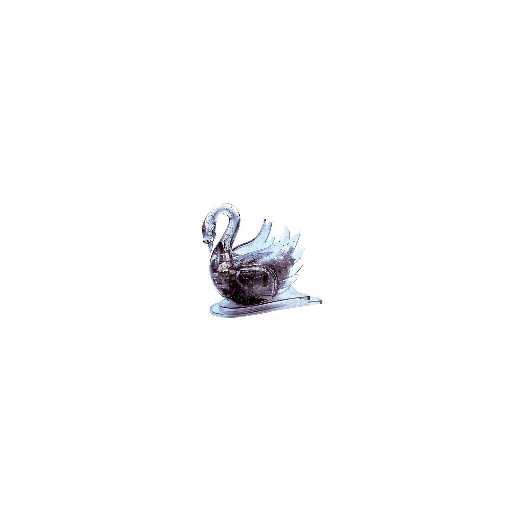 Кристаллический пазл 3D Черный лебедь, Crystal Puzzle3D пазлы<br>Кристаллический пазл 3D Черный лебедь, Crystal Puzzle (Кристал Пазл)<br><br>Характеристики:<br><br>• яркий объемный пазл<br>• размер готовой фигурки: 8 см<br>• количество деталей: 44<br>• высокая сложность<br>• размер упаковки: 5х14х10 см<br>• вес: 235 грамм<br>• материал: пластик<br><br>Кристаллический пазл 3D Черный лебедь- сложная головоломка для детей и взрослых. В качестве подсказок можно использовать инструкцию, в которой вы найдете правильную нумерацию деталей. В комплект входят 44 детали. Соберите их, и прекрасный сверкающий лебедь будет радовать вас своей красотой! Пазлы хорошо развивают мелкую моторику, пространственное и логическое мышление.<br><br>Кристаллический пазл 3D Черный лебедь, Crystal Puzzle (Кристал Пазл) вы можете купить в нашем интернет-магазине.<br><br>Ширина мм: 100<br>Глубина мм: 140<br>Высота мм: 50<br>Вес г: 235<br>Возраст от месяцев: 120<br>Возраст до месяцев: 2147483647<br>Пол: Женский<br>Возраст: Детский<br>SKU: 5397224
