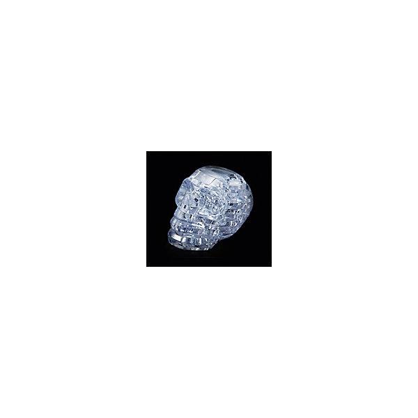 Кристаллический пазл 3D Череп, Crystal Puzzle3D пазлы<br>Кристаллический пазл 3D Череп, Crystal Puzzle (Кристал Пазл)<br><br>Характеристики:<br><br>• яркий объемный пазл<br>• размер готовой фигурки: 8 см<br>• количество деталей: 49<br>• высокая сложность<br>• размер упаковки: 5х14х10 см<br>• вес: 235 грамм<br>• материал: пластик<br><br>Кристаллический череп порадует любителей ужасов и мистики. Для того, чтобы готовая фигурка радовала вас своим сиянием, нужно собрать пазл из 49 деталей. Все детали пронумерованы, а подробная инструкция поможет вам не ошибиться в процессе сборки. Высота готовой фигурки - 8 сантиметров. Собирание пазлов положительно влияет на развитие логического, пространственного мышления и внимательность.<br><br>Кристаллический пазл 3D Череп, Crystal Puzzle (Кристал Пазл) вы можете купить в нашем интернет-магазине.<br>Ширина мм: 100; Глубина мм: 140; Высота мм: 50; Вес г: 235; Возраст от месяцев: 120; Возраст до месяцев: 2147483647; Пол: Унисекс; Возраст: Детский; SKU: 5397226;