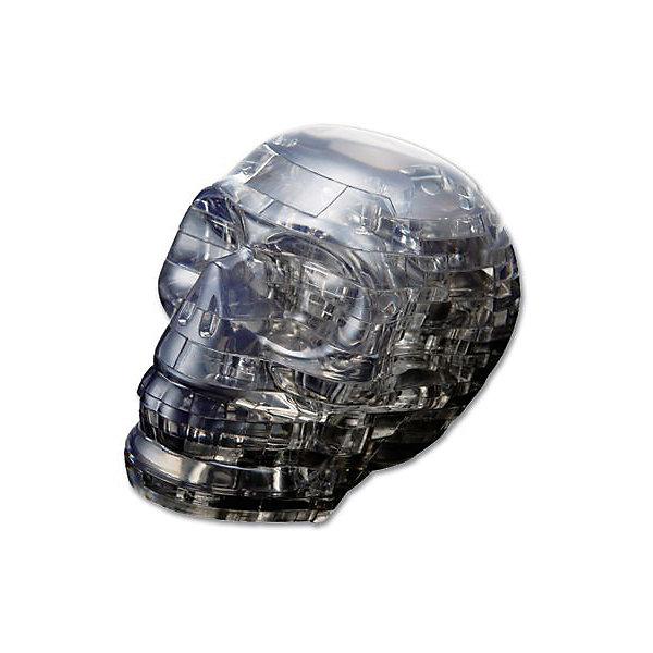 Кристаллический пазл 3D Черный череп, Crystal Puzzle3D пазлы<br>Кристаллический пазл 3D Черный череп, Crystal Puzzle (Кристал Пазл)<br><br>Характеристики:<br><br>• яркий объемный пазл<br>• размер готовой фигурки: 8 см<br>• количество деталей: 49<br>• высокая сложность<br>• размер упаковки: 5х14х10 см<br>• вес: 235 грамм<br>• материал: пластик<br><br>Кристаллический череп порадует любителей ужасов и мистики. Для того, чтобы готовая фигурка радовала вас своим сиянием, нужно собрать пазл из 49 деталей. Все детали пронумерована, а подробная инструкция поможет вам не ошибиться в процессе сборки. Высота готовой фигурки - 8 сантиметров. Собирает пазлов положительно влияет на развитие логического, пространственного мышления и внимательность.<br><br>Кристаллический пазл 3D Черный череп, Crystal Puzzle (Кристал Пазл) можно купить в нашем интернет-магазине.<br>Ширина мм: 100; Глубина мм: 140; Высота мм: 50; Вес г: 235; Возраст от месяцев: 120; Возраст до месяцев: 2147483647; Пол: Унисекс; Возраст: Детский; SKU: 5397227;