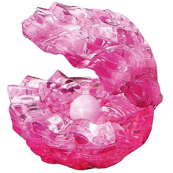Кристаллический пазл 3D Жемчужина, Crystal Puzzle3D пазлы<br>Кристаллический пазл 3D Жемчужина, Crystal Puzzle (Кристал Пазл)<br><br>Характеристики:<br><br>• яркий объемный пазл<br>• размер готовой фигурки: 9 см<br>• количество деталей: 48<br>• высокая сложность<br>• размер упаковки: 5х14х10 см<br>• вес: 206 грамм<br>• материал: пластик<br><br>Любители пазлов по достоинству оценят кристаллический пазл 3D Жемчужина от Crystal Puzzle. Процесс сборки достаточно сложный, но, несомненно, стоит того. Подробная инструкция расскажет вам, как правильно собирать фигурку. В комплект входят 48 пронумерованных деталей. В результате у вас получится красивая сверкающая раковина с жемчужиной. Раковину можно открывать и использовать как шкатулку. Прекрасная жемчужина займет достойное место в вашем доме!<br>Собирание пазлов поможет развить логику, пространственное мышление, внимательность и усидчивость.<br><br>Кристаллический пазл 3D Жемчужина, Crystal Puzzle (Кристал Пазл) вы можете купить в нашем интернет-магазине.<br>Ширина мм: 100; Глубина мм: 140; Высота мм: 50; Вес г: 206; Возраст от месяцев: 120; Возраст до месяцев: 2147483647; Пол: Женский; Возраст: Детский; SKU: 5397228;