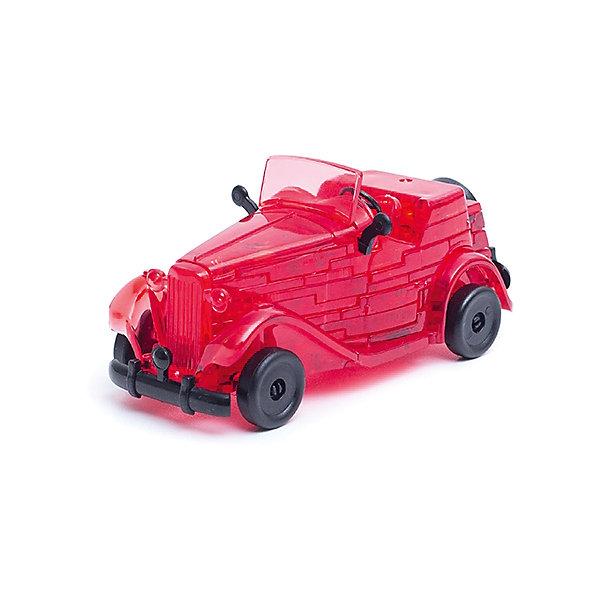 Кристаллический пазл 3D Красный автомобиль, Crystal Puzzle3D пазлы<br>Кристаллический пазл 3D Красный автомобиль, Crystal Puzzle (Кристал Пазл)<br><br>Характеристики:<br><br>• яркий объемный пазл<br>• размер готовой фигурки: 9 см<br>• количество деталей: 53<br>• высокая сложность<br>• размер упаковки: 5х14х10 см<br>• вес: 160 грамм<br>• материал: пластик<br><br>Кристаллический пазл 3D Красный автомобиль от Crystal Puzzle - очень увлекательная головоломка. Вам обязательно придется поломать голову, чтобы собрать сверкающий ретро-автомобиль. В комплект входят 53 детали, в том числе мелкие. Детали пронумерованы, а их номера нужны для правильной сборки по инструкции. Любители сложных головоломок могут попробовать собрать фигурку, не прибегая к помощи инструкции. Готовый автомобиль станет прекрасным украшением комнаты или приятным сувениром для друзей.<br>Собирание пазлов способствует развитию логического мышления, внимательности, усидчивости и пространственного мышления.<br><br>Кристаллический пазл 3D Красный автомобиль, Crystal Puzzle (Кристал Пазл) вы можете купить в нашем интернет-магазине.<br>Ширина мм: 100; Глубина мм: 140; Высота мм: 50; Вес г: 160; Возраст от месяцев: 120; Возраст до месяцев: 2147483647; Пол: Мужской; Возраст: Детский; SKU: 5397230;
