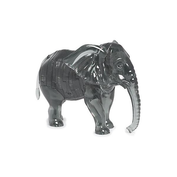 Кристаллический пазл 3D Слон, Crystal Puzzle3D пазлы<br>Кристаллический пазл 3D Слон, Crystal Puzzle (Кристал Пазл)<br><br>Характеристики:<br><br>• яркий объемный пазл<br>• размер готовой фигурки: 9 см<br>• количество деталей: 40<br>• высокая сложность<br>• размер упаковки: 5х14х10 см<br>• вес: 163 грамма<br>• материал: пластик<br><br>3D пазл Слон - прекрасный выбор для заядлых любителей головоломок. В комплект входят 40 небольших деталей, которые вам предстоит собрать по номерам, согласно инструкции. Готовая фигурка - сверкающий слон высотой 9 сантиметров. Она отлично украсит интерьер вашего дома или подойдет в качестве подарка. К тому же, собирание пазлов поможет развить логическое, пространственное мышление и внимательность.<br><br>Кристаллический пазл 3D Слон, Crystal Puzzle (Кристал Пазл) вы можете купить в нашем интернет-магазине.<br>Ширина мм: 100; Глубина мм: 140; Высота мм: 50; Вес г: 163; Возраст от месяцев: 120; Возраст до месяцев: 2147483647; Пол: Унисекс; Возраст: Детский; SKU: 5397231;