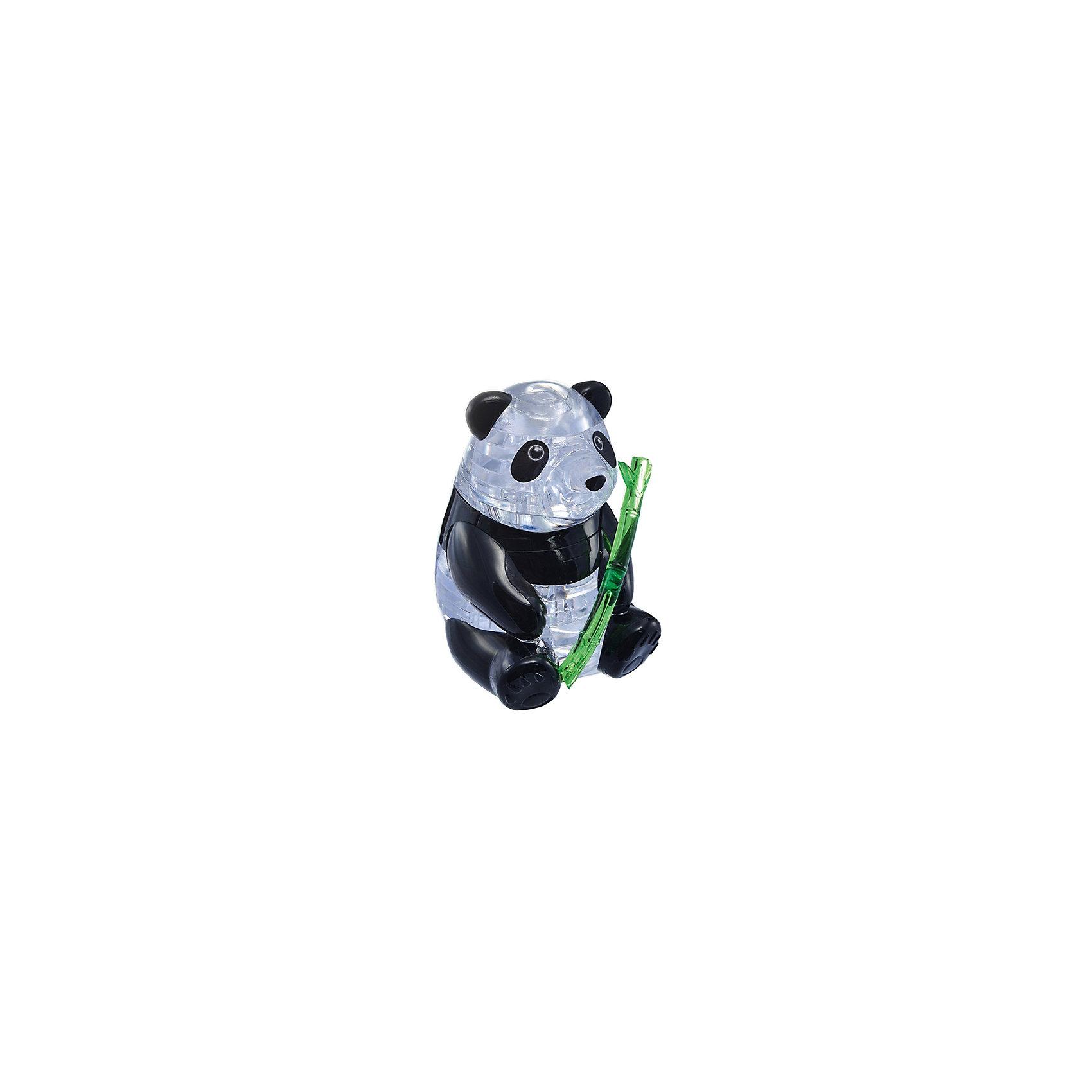 Кристаллический пазл 3D Панда, Crystal PuzzleКристаллический пазл 3D Панда, Crystal Puzzle (Кристал Пазл)<br><br>Характеристики:<br><br>• яркий объемный пазл<br>• размер готовой фигурки: 9 см<br>• количество деталей: 42<br>• высокая сложность<br>• размер упаковки: 5х14х10 см<br>• вес: 215 грамм<br>• материал: пластик<br><br>Любителям сложных головоломок обязательно понравится 3D пазл Панда. В процессе игры предстоит собрать 42 детали трех цветов. Большое количество мелких деталей прибавит процессу еще больше сложности. Для новичков в комплект входит подробная инструкция с описанием сборки. В результате у вас получится сверкающая панда с веткой бамбука. Процесс сборки также поможет в развитии мелкой моторики, логики, внимательности и пространственного мышления.<br><br>Кристаллический пазл 3D Панда, Crystal Puzzle (Кристал Пазл) можно купить в нашем интернет-магазине.<br><br>Ширина мм: 100<br>Глубина мм: 140<br>Высота мм: 50<br>Вес г: 215<br>Возраст от месяцев: 120<br>Возраст до месяцев: 2147483647<br>Пол: Унисекс<br>Возраст: Детский<br>SKU: 5397232