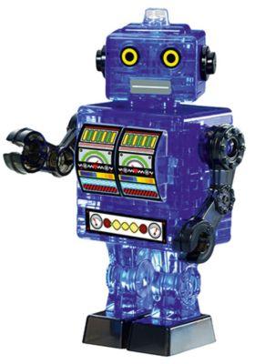 Кристаллический пазл 3D Синий робот , Crystal Puzzle