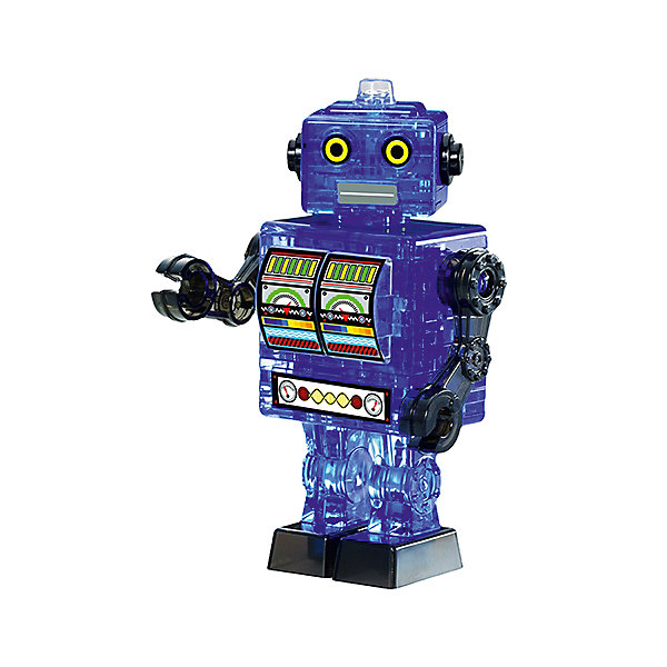 Кристаллический пазл 3D Синий робот, Crystal Puzzle3D пазлы<br>Кристаллический пазл 3D Синий робот, Crystal Puzzle (Кристал Пазл)<br><br>Характеристики:<br><br>• яркий объемный пазл<br>• размер готовой фигурки: 9,5 см<br>• количество деталей: 39<br>• высокая сложность<br>• размер упаковки: 5х14х10 см<br>• вес: 180 грамм<br>• материал: пластик<br><br>Собирание 3D пазлов - непростая, но интересная задача. Поэтапная сборка способствует развитию логики и пространственного мышления. В комплект входят 39 деталей, собрав которые вы получите синего робота в стиле ретро. Процесс сборки достаточно сложный и увлекательный. Однако подробная инструкция и нумерация деталей позволят вам разобраться со всеми тонкостями процесса. Яркий синий робот станет прекрасным подарком для близких!<br><br>Кристаллический пазл 3D Синий робот, Crystal Puzzle (Кристал Пазл) вы может купить в нашем интернет-магазине.<br><br>Ширина мм: 100<br>Глубина мм: 140<br>Высота мм: 50<br>Вес г: 180<br>Возраст от месяцев: 120<br>Возраст до месяцев: 2147483647<br>Пол: Мужской<br>Возраст: Детский<br>SKU: 5397235