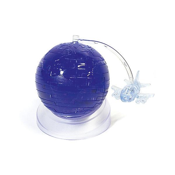 Кристаллический пазл 3D Путешественник, Crystal Puzzle3D пазлы<br>Кристаллический пазл 3D Путешественник, Crystal Puzzle (Кристал Пазл)<br><br>Характеристики:<br><br>• яркий объемный пазл<br>• размер готовой фигурки: 9 см<br>• количество деталей: 52<br>• высокая сложность<br>• размер упаковки: 5х14х10 см<br>• вес: 302 грамма<br>• материал: пластик<br><br>3D пазлы помогут вам раскрыть свои способности и развить логику, мелкую моторику и пространственное мышление. С набором Путешественник вы сможете собрать удивительную объемную фигурку в виде планеты и летающего вокруг неё самолетика. В комплект входят 52 сверкающие детали. Вы можете попробовать собрать фигурку самостоятельно или воспользоваться подробной инструкцией. Готовую фигурку можно поставить на полку - она станет прекрасным дополнением к интерьеру!<br><br>Кристаллический пазл 3D Путешественник, Crystal Puzzle (Кристал Пазл) можно купить в нашем интернет-магазине.<br>Ширина мм: 100; Глубина мм: 140; Высота мм: 50; Вес г: 302; Возраст от месяцев: 120; Возраст до месяцев: 2147483647; Пол: Унисекс; Возраст: Детский; SKU: 5397236;