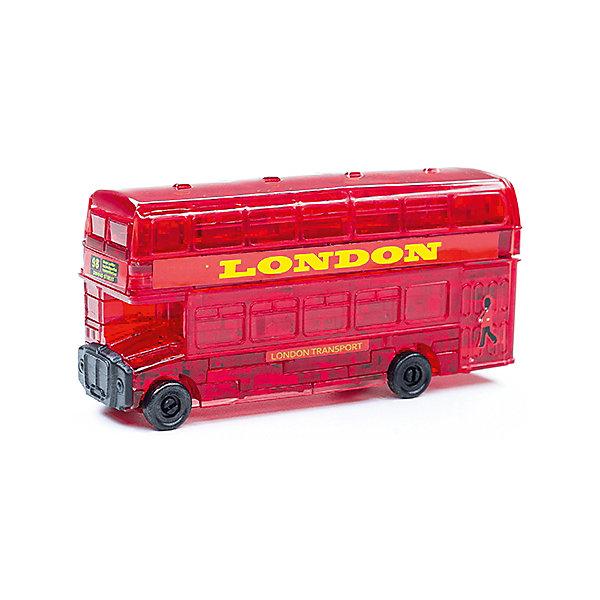 Кристаллический пазл 3D Лондонский автобус, Crystal Puzzle3D пазлы<br>Кристаллический пазл 3D Лондонский автобус, Crystal Puzzle (Кристал Пазл)<br><br>Характеристики:<br><br>• яркий объемный пазл<br>• размер готовой фигурки: 8 см<br>• количество деталей: 53<br>• высокая сложность<br>• размер упаковки: 5х14х10 см<br>• вес: 244 грамма<br>• материал: пластик<br><br>3D пазл - настоящая находка для любителей сложных головоломок. В набор Лондонский автобус входят 53 детали, собрав, которые вы сможете насладиться яркой сверкающей фигуркой двухэтажного автобуса. Процесс сборки достаточно сложен, поэтому в комплекте есть подробная инструкция для каждой детали. Кроме того, собирая 3D пазл, вы развиваете логическое и пространственное мышление, моторику рук и внимательность.<br><br>Кристаллический пазл 3D Лондонский автобус, Crystal Puzzle (Кристал Пазл) вы можете купить в нашем интернет-магазине.<br>Ширина мм: 100; Глубина мм: 140; Высота мм: 50; Вес г: 244; Возраст от месяцев: 120; Возраст до месяцев: 2147483647; Пол: Мужской; Возраст: Детский; SKU: 5397238;