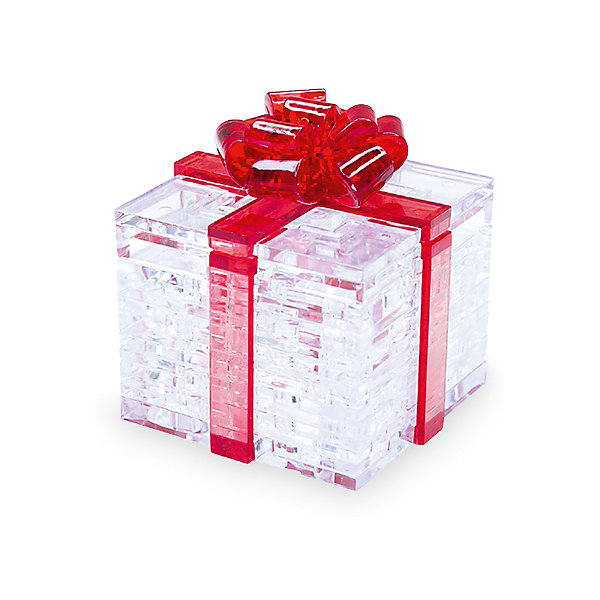 Кристаллический пазл 3D Подарок, Crystal Puzzle3D пазлы<br>Кристаллический пазл 3D Подарок, Crystal Puzzle (Кристал Пазл)<br><br>Характеристики:<br><br>• яркий объемный пазл<br>• размер готовой фигурки: 8 см<br>• количество деталей: 38<br>• высокая сложность<br>• размер упаковки: 5х14х10 см<br>• вес: 217 грамм<br>• материал: пластик<br><br>Собирание пазлов - отличный вариант для тех, кто хочет провести время с пользой. В набор Подарок входят 38 деталей, собрав которые вы сделаете маленькую шкатулку в виде сверкающей подарочной коробки с бантом. Крышка шкатулки открывается. Готовая фигурка отлично подойдет для хранения бижутерии и различных безделушек.<br><br>Кристаллический пазл 3D Подарок, Crystal Puzzle (Кристал Пазл) вы можете купить в нашем интернет-магазине.<br><br>Ширина мм: 100<br>Глубина мм: 140<br>Высота мм: 50<br>Вес г: 217<br>Возраст от месяцев: 120<br>Возраст до месяцев: 2147483647<br>Пол: Женский<br>Возраст: Детский<br>SKU: 5397239