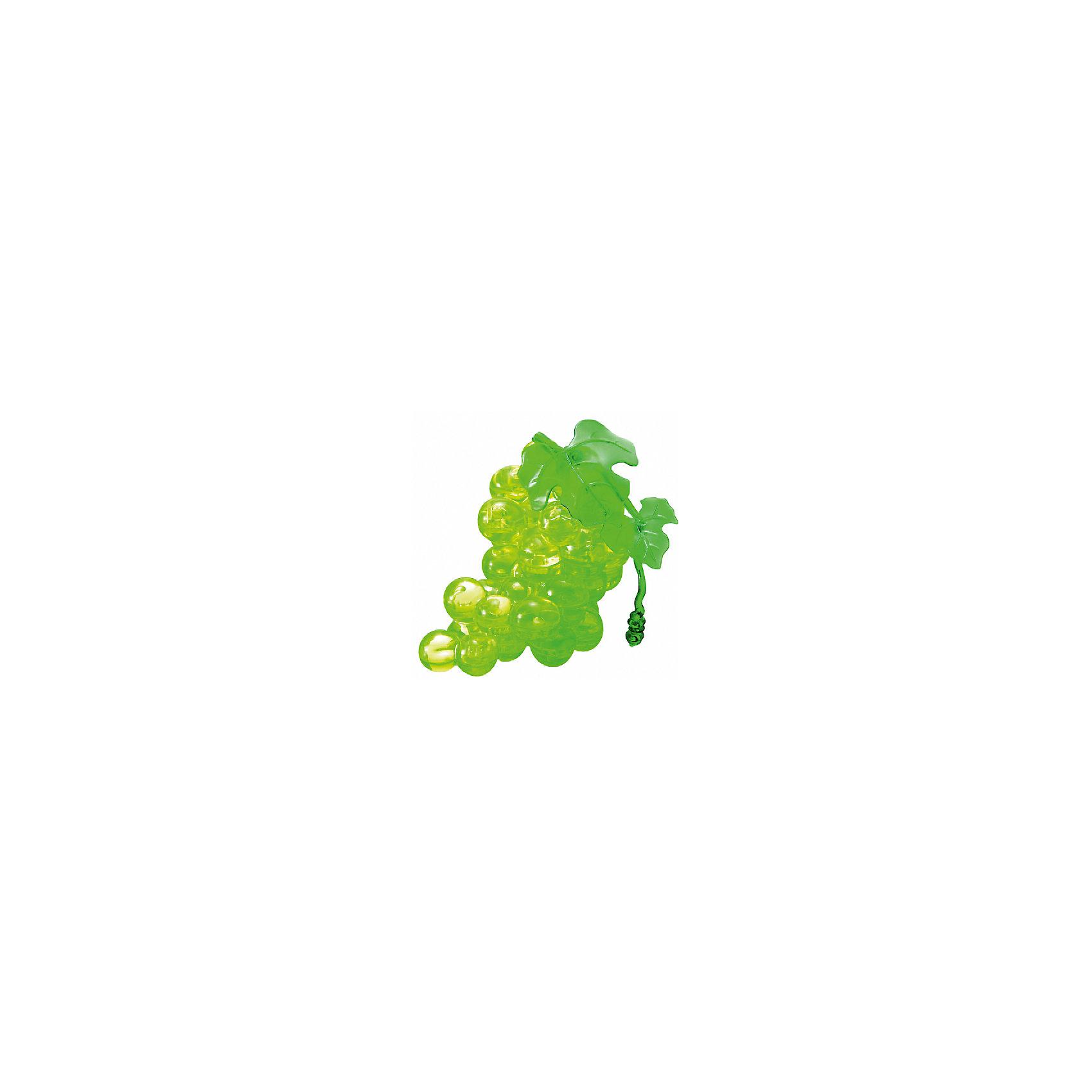 Кристаллический пазл 3D Зеленнный виноград, Crystal PuzzleКристаллический пазл 3D Зеленый виноград, Crystal Puzzle (Кристал Пазл)<br><br>Характеристики:<br><br>• яркий объемный пазл<br>• размер готовой фигурки: 9 см<br>• количество деталей: 46<br>• высокая сложность<br>• размер упаковки: 5х14х10 см<br>• вес: 185 грамм<br>• материал: пластик<br><br>Вам действительно придется постараться, чтобы собрать реалистичную гроздь винограда из 3D пазлов. Заядлые любители головоломок могут попробовать справиться с этой задачей самостоятельно, а новичкам придет на помощь подробная инструкция. Фигурка порадует вас своей красотой и сиянием и займет достойное место на полке. Кроме того, собирание пазлов поможет в развитии внимательности, мелкой моторики, логического и пространственного мышления.<br><br>Кристаллический пазл 3D Зеленый виноград, Crystal Puzzle (Кристал Пазл) вы можете купить в нашем интернет-магазине.<br><br>Ширина мм: 100<br>Глубина мм: 140<br>Высота мм: 50<br>Вес г: 185<br>Возраст от месяцев: 120<br>Возраст до месяцев: 2147483647<br>Пол: Унисекс<br>Возраст: Детский<br>SKU: 5397243