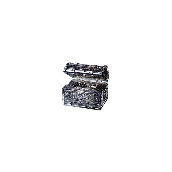 Кристаллический пазл 3D Пиратский сундук, Crystal Puzzle3D пазлы<br>Кристаллический пазл 3D Пиратский сундук, Crystal Puzzle (Кристал Пазл)<br><br>Характеристики:<br><br>• яркий объемный пазл<br>• размер готовой фигурки: 9 см<br>• количество деталей: 52<br>• высокая сложность<br>• размер упаковки: 5х14х10 см<br>• вес: 281 грамм<br>• материал: пластик<br><br>3D пазл от Crystal Puzzle - настоящая находка для юных искателей сокровищ! В набор входят 52 детали, собрав которые вы сделаете сверкающий сундучок пирата, закрывающий с помощью ключа. Готовая фигурка станет приятным украшением интерьера любой комнаты. Игра поможет развить пространственное мышление, логику, усидчивость и внимательность.<br><br>Кристаллический пазл 3D Пиратский сундук, Crystal Puzzle (Кристал Пазл) вы можете купить в нашем интернет-магазине.<br><br>Ширина мм: 100<br>Глубина мм: 140<br>Высота мм: 50<br>Вес г: 281<br>Возраст от месяцев: 120<br>Возраст до месяцев: 2147483647<br>Пол: Унисекс<br>Возраст: Детский<br>SKU: 5397245