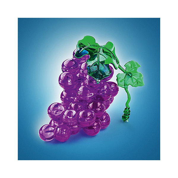 Кристаллический пазл 3D Виноград, Crystal Puzzle3D пазлы<br>Кристаллический пазл 3D Виноград, Crystal Puzzle (Кристал Пазл)<br><br>Характеристики:<br><br>• яркий объемный пазл<br>• размер готовой фигурки: 9 см<br>• количество деталей: 46<br>• высокая сложность<br>• размер упаковки: 5х14х10 см<br>• вес: 185 грамм<br>• материал: пластик<br><br>Вам действительно придется постараться, чтобы собрать реалистичную гроздь винограда из 3D пазлов. Заядлые любители головоломок могут попробовать справиться с этой задачей самостоятельно, а новичкам придет на помощь подробная инструкция. Фигурка порадует вас своей красотой и сиянием и займет достойное место на полке. Кроме того, собирание пазлов поможет в развитии внимательности, мелкой моторики, логического и пространственного мышления.<br><br>Кристаллический пазл 3D Виноград, Crystal Puzzle (Кристал Пазл) вы можете купить в нашем интернет-магазине.<br>Ширина мм: 100; Глубина мм: 140; Высота мм: 50; Вес г: 185; Возраст от месяцев: 120; Возраст до месяцев: 2147483647; Пол: Унисекс; Возраст: Детский; SKU: 5397246;
