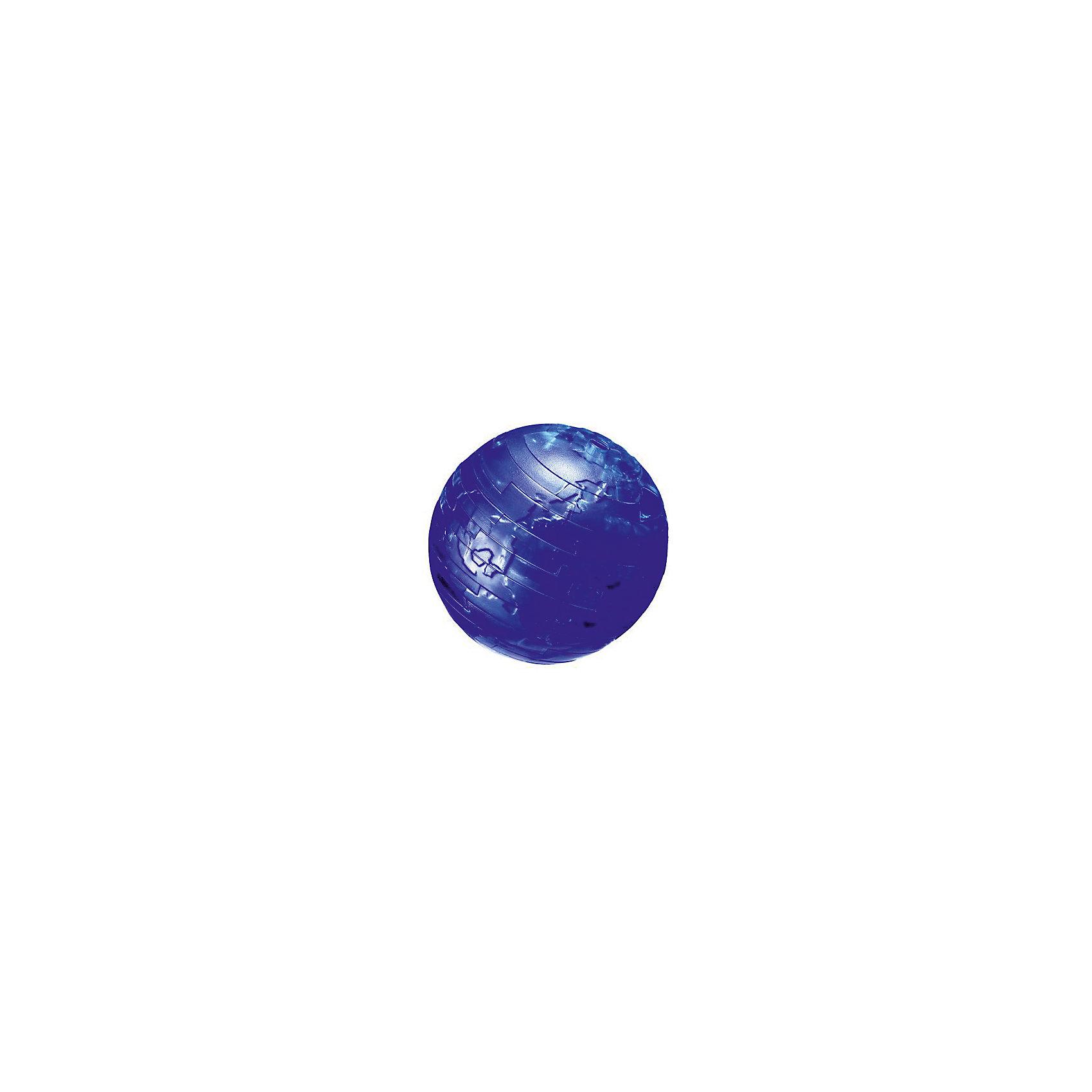 Кристаллический пазл 3D Планета Земля, Crystal Puzzle3D пазлы<br>Кристаллический пазл 3D Планета Земля, Crystal Puzzle (Кристал Пазл)<br><br>Характеристики:<br><br>• яркий объемный пазл<br>• размер готовой фигурки: 9 см<br>• количество деталей: 40<br>• высокая сложность<br>• размер упаковки: 5х14х10 см<br>• вес: 260 грамм<br>• материал: пластик<br><br>Планета Земля - объёмный пазл из полупрозрачного пластика. Он состоит из 40 пронумерованных деталей, разобраться с которыми вам поможет подробная инструкция. Готовая фигурка напоминает нашу планету, и даже материки и континенты обозначены на своих местах. Вы можете поместить её на стол или полку для украшения комнаты. Собирание пазлов способствует развитию моторики, логического и пространственного мышления.<br><br>Кристаллический пазл 3D Планета Земля, Crystal Puzzle (Кристал Пазл) вы можете купить в нашем интернет-магазине.<br><br>Ширина мм: 100<br>Глубина мм: 140<br>Высота мм: 50<br>Вес г: 260<br>Возраст от месяцев: 120<br>Возраст до месяцев: 2147483647<br>Пол: Унисекс<br>Возраст: Детский<br>SKU: 5397247