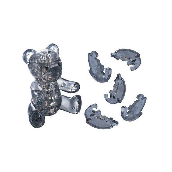 Кристаллический пазл 3D Мишка, Crystal Puzzle3D пазлы<br>Кристаллический пазл 3D Мишка, Crystal Puzzle (Кристал Пазл)<br><br>Характеристики:<br><br>• яркий объемный пазл<br>• размер готовой фигурки: 8 см<br>• количество деталей: 41<br>• высокая сложность<br>• размер упаковки: 5х14х10 см<br>• вес: 167 грамм<br>• материал: пластик<br><br>Кристаллический пазл Мишка отлично подойдет для любителей сложных и увлекательных головоломок. В комплект входит 41 деталь, собрав которые вы сможете увидеть прекрасного медвежонка. Подробная инструкция и нумерация деталей поможет вам справиться с этой задачей. Фигурку можно поставить на стол или полку для украшения комнаты. Собирание пазлов способствует развитию пространственного мышления, логики и усидчивости.<br><br>Кристаллический пазл 3D Мишка, Crystal Puzzle (Кристал Пазл) можно купить в нашем интернет-магазине.<br>Ширина мм: 100; Глубина мм: 140; Высота мм: 50; Вес г: 167; Возраст от месяцев: 120; Возраст до месяцев: 2147483647; Пол: Унисекс; Возраст: Детский; SKU: 5397249;