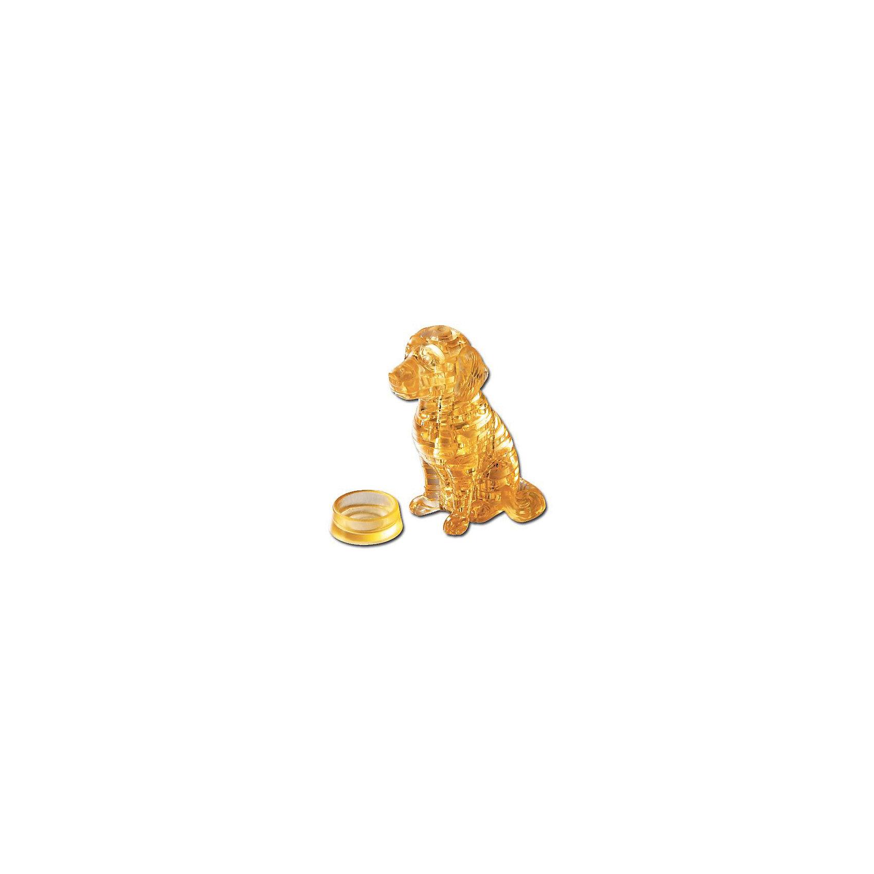 Кристаллический пазл 3D Лабрадор, Crystal Puzzle3D пазлы<br>Кристаллический пазл 3D Лабрадор, Crystal Puzzle (Кристал Пазл)<br><br>Характеристики:<br><br>• яркий объемный пазл<br>• размер готовой фигурки: 9 см<br>• количество деталей: 41<br>• высокая сложность<br>• размер упаковки: 5х14х10 см<br>• вес: 185 грамм<br>• материал: пластик<br><br>Любители фигурок животных непременно порадуются подарку в виде трехмерной головоломки Лабрадор. В комплект входит 41 деталь, собрав которые вы получите очаровательную блестящую собачку. Для упрощения процесса можно воспользоваться инструкцией, которая входит в комплект. Все детали имеют нумерацию, значительно облегчающую процесс сборки. Готовая фигурка украсит любой дом и обязательно поднимет настроение!<br><br>Кристаллический пазл 3D Лабрадор, Crystal Puzzle (Кристал Пазл) вы можете купить в нашем интернет-магазине.<br><br>Ширина мм: 100<br>Глубина мм: 140<br>Высота мм: 50<br>Вес г: 185<br>Возраст от месяцев: 120<br>Возраст до месяцев: 2147483647<br>Пол: Унисекс<br>Возраст: Детский<br>SKU: 5397253
