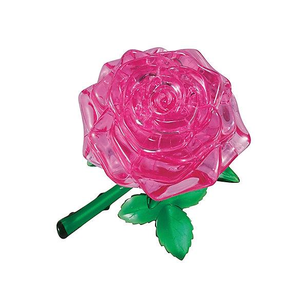 Кристаллический пазл 3D Розовая роза, Crystal Puzzle3D пазлы<br>Кристаллический пазл 3D Розовая роза, Crystal Puzzle (Кристал Пазл)<br><br>Характеристики:<br><br>• яркий объемный пазл<br>• размер готовой фигурки: 8 см<br>• количество деталей: 44<br>• высокая сложность<br>• размер упаковки: 5х14х10 см<br>• вес: 188 грамм<br>• материал: пластик<br><br>Объёмный пазл Розовая роза состоит из 44 деталей. Попробуйте собрать головоломку сами или воспользуйтесь инструкцией - результат обязательно порадует вас. Готовая фигурка представляет собой красивую розу, закрепленную на веточке. Роза будет прекрасным украшением для комнаты и, к тому же, поможет в развитии координации движений, мелкой моторики и пространственного мышления.<br><br>Кристаллический пазл 3D Розовая роза, Crystal Puzzle (Кристал Пазл) вы можете купить в нашем интернет-магазине.<br>Ширина мм: 100; Глубина мм: 140; Высота мм: 50; Вес г: 188; Возраст от месяцев: 120; Возраст до месяцев: 2147483647; Пол: Женский; Возраст: Детский; SKU: 5397255;