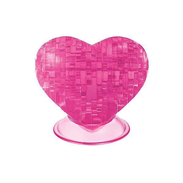Кристаллический пазл 3D Сердце, Crystal Puzzle3D пазлы<br>Кристаллический пазл 3D Сердце, Crystal Puzzle (Кристал Пазл)<br><br>Характеристики:<br><br>• яркий объемный пазл<br>• размер готовой фигурки: 8 см<br>• количество деталей: 46<br>• высокая сложность<br>• размер упаковки: 5х14х10 см<br>• вес: 154 грамма<br>• материал: пластик<br><br>Как известно, сердце - символ любви. Собрав объёмный пазл от Crystal Puzzle, вы сможете подарить прекрасную фигурку в знак своей любви близкому человеку. В комплект входят 46 деталей и подробная инструкция. Процесс сборки достаточно прост за счёт симметричности деталей. Что немаловажно, собирание пазлов способствует развитию моторики, логического мышления и усидчивости.<br><br>Кристаллический пазл 3D Сердце, Crystal Puzzle (Кристал Пазл) вы можете купить в нашем интернет-магазине.<br>Ширина мм: 100; Глубина мм: 140; Высота мм: 50; Вес г: 154; Возраст от месяцев: 120; Возраст до месяцев: 2147483647; Пол: Женский; Возраст: Детский; SKU: 5397256;
