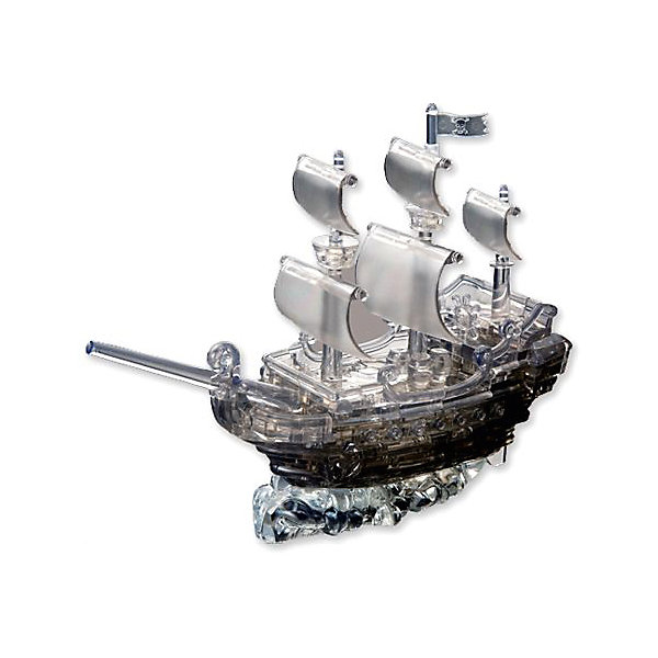 Кристаллический пазл 3D Пиратский корабль, Crystal Puzzle3D пазлы<br>Кристаллический пазл 3D Пиратский корабль, Crystal Puzzle (Кристал Пазл)<br><br>Характеристики:<br><br>• яркий объемный пазл<br>• размер готовой фигурки: 20 см<br>• количество деталей: 101<br>• высокая сложность<br>• размер упаковки: 6х19х18 см<br>• вес: 463 грамма<br>• материал: пластик<br><br>Создать пиратский корабль совсем не просто. И 3D пазл от Crystal Puzzle не исключение. Он состоит из 101 детали. Если в процессе сборки возникнут трудности, вы можете воспользоваться понятной инструкцией. Немного усилий - и большой сверкающий корабль будет радовать юных пиратов своей красотой. Фигурка прекрасно подойдет в качестве украшения или подарка. Кроме того, пазлы развивают моторику, внимание, логику и усидчивость.<br><br>Кристаллический пазл 3D Пиратский корабль, Crystal Puzzle (Кристал Пазл) вы можете купить в нашем интернет-магазине.<br>Ширина мм: 180; Глубина мм: 190; Высота мм: 60; Вес г: 463; Возраст от месяцев: 120; Возраст до месяцев: 2147483647; Пол: Мужской; Возраст: Детский; SKU: 5397257;