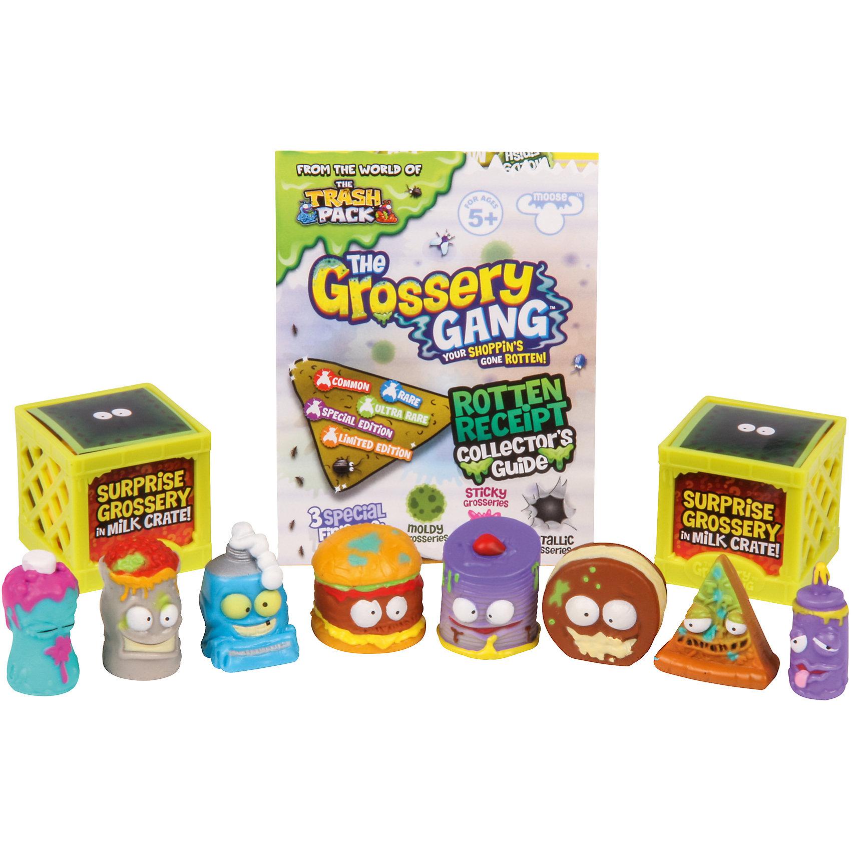 Фигурки Пакет чипсов, 10 шт., The Grossery GangИгрушечные продукты питания<br>Фигурки Пакет чипсов, 10 шт., Moose (Мус)<br><br>Характеристики:<br><br>• 2 бокса для хранения<br>• буклет с изображениями в комплекте<br>• 10 фигурок в комплекте<br>• материал: пластик<br>• размер упаковки: 20х25,8х4 см<br>• вес: 132 грамма<br>• в комплекте: 10 фигурок, 2 бокса, буклет<br><br>Что вы ожидаете увидеть, открывая пакетик чипсов? Наверное, всё, что угодно, но только не испортившиеся продукты из серии Grossery Gang. Однако именно эти маленькие хулиганы прячутся в пакетике. Придумайте интересную игру или устройте настоящий побег из супермаркета - веселье гарантировано! В набор входят 10 фигурок, 2 бокса для хранения и буклет с изображением персонажей серии.<br><br>Фигурки Пакет чипсов, 10 шт., Moose (Мус) вы можете купить в нашем интернет-магазине.<br><br>Ширина мм: 40<br>Глубина мм: 258<br>Высота мм: 200<br>Вес г: 132<br>Возраст от месяцев: 60<br>Возраст до месяцев: 2147483647<br>Пол: Женский<br>Возраст: Детский<br>SKU: 5397304