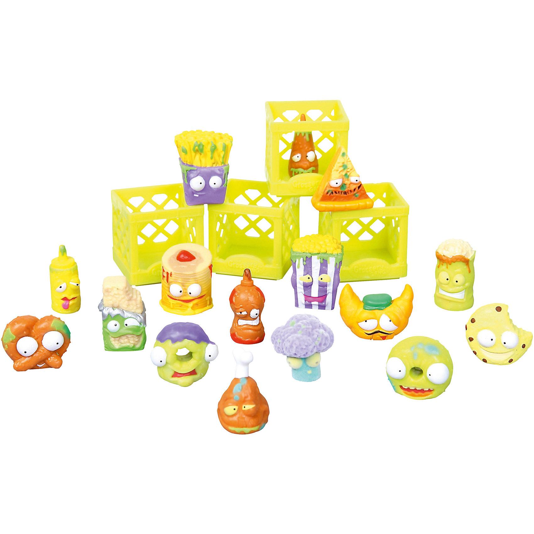Набор Для завтрака с 16 фигурками, The Grossery GangИгрушечные продукты питания<br>Набор Для завтрака с 16 фигурками, Moose (Мус)<br><br>Характеристики:<br><br>• боксы для хранения<br>• буклет с изображениями в комплекте<br>• 16 фигурок в комплекте<br>• материал: пластик<br>• размер упаковки: 20х26х5 см<br>• вес: 325 грамм<br>• в комплекте: 16 фигурок, 4 бокса, буклет<br><br>Этот набор, конечно, не подойдёт для завтрака, но зато с ним можно придумать весёлую игру. В набор входят 10 обычных и 6 эксклюзивных фигурок. Все они - испортившиеся продукты, оставленные на полках забытого супермаркета в городе Чиптаун. Эти маленькие вредные хулиганы точно не позволят заскучать! В комплект также входят боксы для хранения и красочный буклет с изображением других персонажей.<br><br>Набор Для завтрака с 16 фигурками, Moose (Мус) вы можете купить в нашем интернет-магазине.<br><br>Ширина мм: 50<br>Глубина мм: 260<br>Высота мм: 200<br>Вес г: 325<br>Возраст от месяцев: 60<br>Возраст до месяцев: 2147483647<br>Пол: Женский<br>Возраст: Детский<br>SKU: 5397305