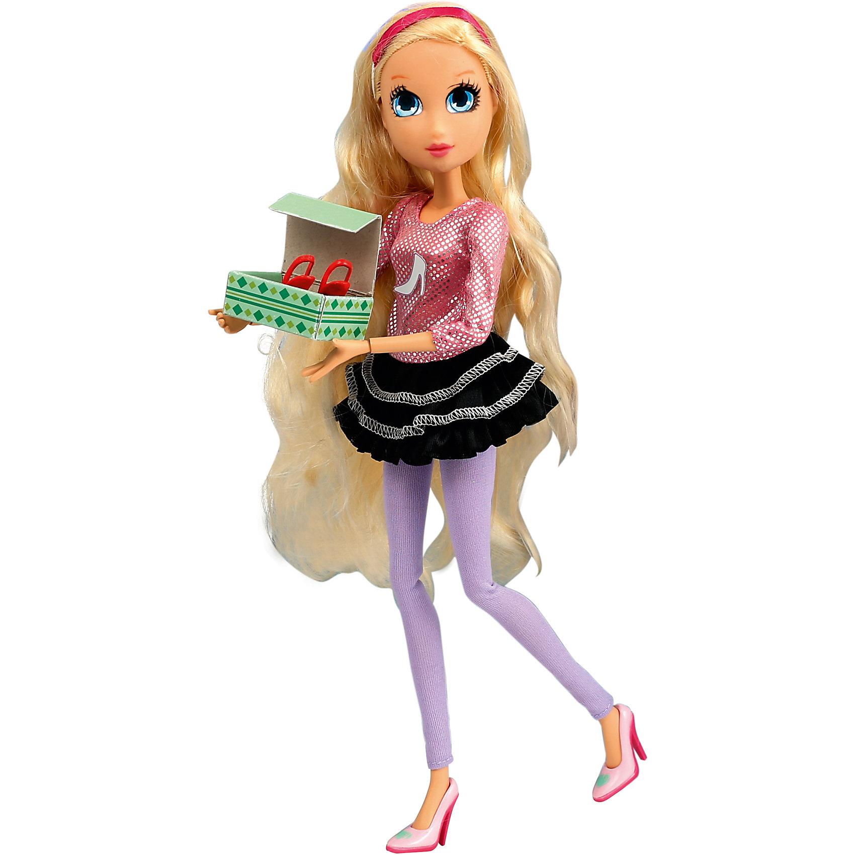 Игровой набор Обувной бутик, Королевская академияКоролевская академия<br>Игровой набор Обувной бути, Королевская академия<br><br>Характеристики:<br><br>• всё необходимое для увлекательного шопинга<br>• в комплекте: кукла, бутик, платье, туфли, пакеты, коробки, пуфик<br>• материал: пластик, текстиль<br>• высота куклы: 29 см<br>• размер упаковки: 46х36х12 см<br>• вес: 1443 грамма<br><br>Роуз из Королевской Академии мечтает всегда выглядеть ослепительно. Как и положено настоящей королеве, девочка часто меняет обувь, придавая своим образам ещё больше элегантности и стиля. В обувной бутик входит всё необходимое для удобного шопинга: пуфик, коробки, полочки и пакеты - без этого не обойдётся ни одна покупка. Придумайте интересную игру с походом в магазин и помогите Роуз подобрать красивую обувь к своему наряду. Поклонницы Королевской Академии будут в восторге от такого подарка!<br><br>Игровой набор Обувной бутик, Королевская академия можно купить в нашем интернет-магазине.<br><br>Ширина мм: 120<br>Глубина мм: 360<br>Высота мм: 460<br>Вес г: 1443<br>Возраст от месяцев: 36<br>Возраст до месяцев: 2147483647<br>Пол: Женский<br>Возраст: Детский<br>SKU: 5397309