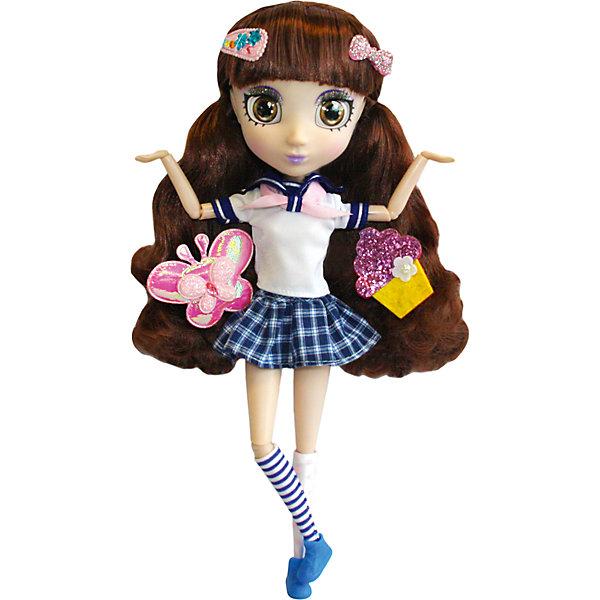 Кукла Намика, 33см, Шибадзуку ГерлзКуклы<br>Кукла Намика, 33см, Шибадзуку Герлз<br><br>Характеристики:<br><br>• модная кукла с реалистичными глазами<br>• длинные ресницы<br>• длинные густые волосы<br>• в комплекте: кукла, заколки, аксессуары<br>• высота куклы: 33 см<br>• материал: пластик, текстиль<br>• размер упаковки: 20,6х38,1х10,2 см<br>• вес: 600 грамм<br><br>Шибадзуку Герлз - серия кукол, завораживающих своими роскошными волосами и широкими реалистичными глазами. Например, Намика, очень увлекается астрономией и даже мечтает стать исследователем. Но и это не мешает ей выглядеть очень стильно. Кукла одета в футболочку с бантом и короткую клетчатую юбку. На ногах куклы - синие ботиночки и гольфы в полоску. Густые волосы девочки украшены модными заколочками. Вы сможете создать свою прическу для Намики, используя аксессуары и заколки, входящие в комплект. Эта кукла, без сомнения, займет достойное место в коллекции игрушек девочки!<br><br>Куклу Намика, 33см, Шибадзуку Герлз можно купить в нашем интернет-магазине.<br>Ширина мм: 102; Глубина мм: 381; Высота мм: 206; Вес г: 600; Возраст от месяцев: 36; Возраст до месяцев: 2147483647; Пол: Женский; Возраст: Детский; SKU: 5397312;