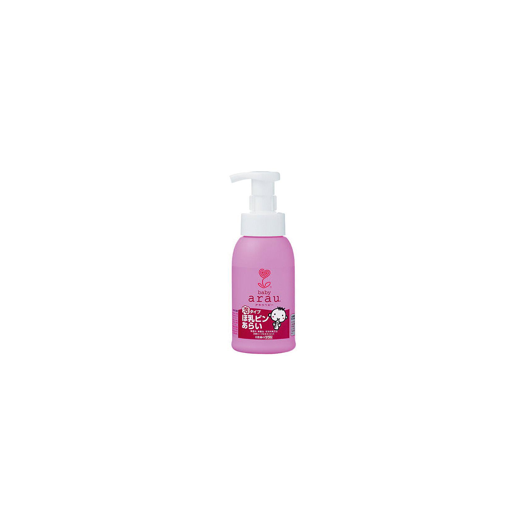 Средство для мытья детской посуды Arau Baby, 300 мл., sarayaБытовая химия<br>Средство для мытья детской посуды Arau Baby, 300 мл., Saraya<br><br>Характеристики:<br><br>- объем: 300 мл.<br>- состав: Чистое мыло (10% калиевые соли жирных кислот), стабилизатор<br>- область применения: посуда, кухонные поверхности, овощи, фрукты<br>- cтрана производитель: Япония<br><br>Густая, обильная пена смоет жир и загрязнения, оставляя скрипящую чистоту и блеск на вашей посуде. Отлично отмывает керамическую, стеклянную и металическую посуду, пластиковые контейнеры и ланчбоксы, быстро смывается водой. <br><br>Средство полностью натурально и не будет раздражать руки, как это делают синтетические средства. Вся продукция линии Аrau Baby (Арау Бейби) оказывают бережное отношение к окружающей среде и разлагаются не загрязняя её. <br><br>Природные компоненты состава этого средства не провоцируют аллергию, формула проверена дерматологами и не провоцирует раздражение. Ненатуральные ароматизаторы или красители в формулу не входят. Средство можно использовать для мытья детских игрушек и посуды. Безупречная чистота с безопасным составом от Аrau Baby (Арау Бейби) придет вам по вкусу!<br><br>Средство для мытья детской посуды Arau Baby, 300 мл., Saraya можно купить в нашем интернет-магазине.<br><br>Ширина мм: 430<br>Глубина мм: 295<br>Высота мм: 215<br>Вес г: 300<br>Возраст от месяцев: 216<br>Возраст до месяцев: 1188<br>Пол: Унисекс<br>Возраст: Детский<br>SKU: 5397363