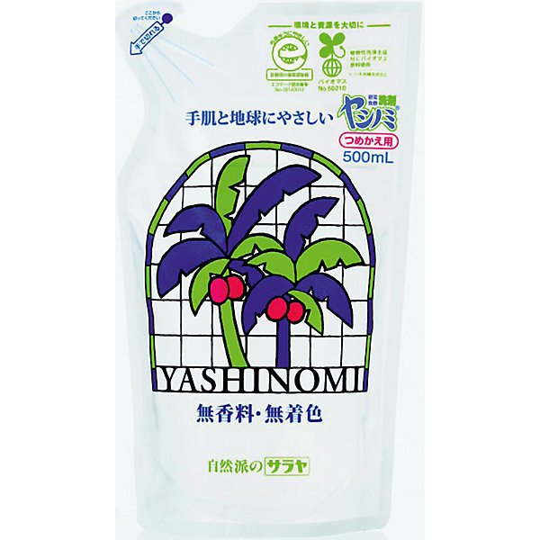 Средство для мытья посуды Yashinomi, 500 мл., sarayaДетская бытовая химия<br>Средство для мытья посуды Yashinomi, наполнитель 500 мл., Saraya<br><br>Характеристики:<br><br>- объем: 500 мл.<br>- состав: Вода, неионогенные сурфактанты (амиды жирных кислот), лауретсульфат натрия, ЭДТА тетранатриевая соль, лимонная кислота, цитрат натрия, хлорид натрия, антибактериальные компоненты.<br>- область применения: посуда, кухонные поверхности <br>- cтрана производитель: Япония<br><br>Моющее средство для посуды из линии средств для кухни от японского бренда Yashinomi (Яшиноми) поможет добиться самого чистого результата. Густая, обильная пена смоет жир и загрязнения, оставляя скрипящую чистоту и блеск на вашей посуде, а благодаря лимонной кислоте легко смоются и сильные запахи продуктов, таких как рыба. <br><br>Отлично отмывает пластиковые контейнеры и ланчбоксы, быстро смывается. Удобная упаковка этого наполнителя позволит наполнить бутылочку один раз. Средство протестировано дерматологами и не будет раздражать руки и провоцировать аллергические реакции. <br><br>Вся продукция линии Yashinomi (Яшиноми) оказывают бережное отношение к окружающей среде и разлагается не загрязняя её. Ненатуральные ароматизаторы или красители в формулу не входят. Добейтесь безупречной чистоты вместе с Yashinomi (Яшиноми)<br><br>Средство для мытья посуды Yashinomi, наполнитель 500 мл., Saraya можно купить в нашем интернет-магазине.<br><br>Ширина мм: 390<br>Глубина мм: 300<br>Высота мм: 250<br>Вес г: 519<br>Возраст от месяцев: 216<br>Возраст до месяцев: 1188<br>Пол: Унисекс<br>Возраст: Детский<br>SKU: 5397377