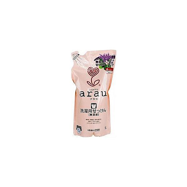 Средство для стирки Arau на мыльной основе для мам и детей, 1000 мл., sarayaДетская бытовая химия<br>Средство для стирки Arau на мыльной основе для мам и детей, наполнитель, 1000 мл., Saraya<br><br>Характеристики:<br><br>- объем: 1000 мл.<br>- состав: вода, калиевое мыло на основе кокосового масла, эфирные масла лаванды и мяты.<br>- для детей в возрасте: от 3-х лет.<br>- Страна производитель: Япония<br><br>Стирка не может быть проще, чем со средством для стики Arau (Арау)! Просто налейте его прямо в стиральную машину и мыло быстро растворится в воде, чтобы отстирать любые загрязнения. Средство отлично ополаскивается и оставляет полотенца и белье пушистыми и мягкими даже без использования кондиционера. Удобная упаковка этого наполнителя с завинчивающейся крышечкой позволит наполнить бутылочку один раз. <br><br>Все средства линии Аrau (Арау) оказывают бережное отношение к окружающей среде и разлагается не загрязняя её. Природные компоненты состава этого средства не провоцируют аллергию, формула мыла проверена дерматологами и не провоцирует раздражение. <br><br>В состав входят натуральные масла мяты и лаванды, придающее белью легкий и ненавязчивый запах, прочие ненатуральные ароматизаторы в формулу не входят. Идеально как для ручной, так и для автоматической стирки, отлично подходит для белого и цветного белья. В составе формулы нет красителей. Вы полюбите чистые вещи вместе с Аrau (Арау)!<br><br>Средство для стирки Arau на мыльной основе для мам и детей, наполнитель, 1000 мл., Saraya можно купить в нашем интернет-магазине.<br><br>Ширина мм: 420<br>Глубина мм: 190<br>Высота мм: 300<br>Вес г: 950<br>Возраст от месяцев: 0<br>Возраст до месяцев: 1188<br>Пол: Унисекс<br>Возраст: Детский<br>SKU: 5397380