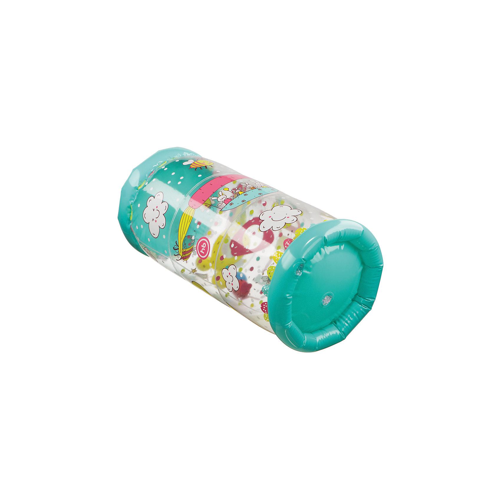 Игровой надувной цилиндр GYMEX, Happy BabyРазвивающие игрушки<br><br><br>Ширина мм: 420<br>Глубина мм: 158<br>Высота мм: 220<br>Вес г: 240<br>Возраст от месяцев: 6<br>Возраст до месяцев: 180<br>Пол: Унисекс<br>Возраст: Детский<br>SKU: 5397604
