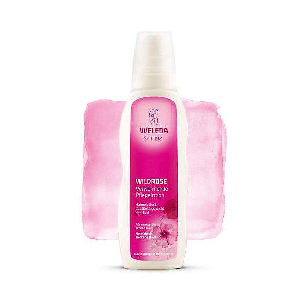 Молочко розовое гармонизирующее для тела, 200мл., Weleda