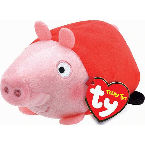 Мягкая игрушка Свинка Пеппа, 11х7х5 см, Teeny Tys, TyМягкие игрушки из мультфильмов<br>Мягкая игрушка Свинка Пеппа, 11х7х5 см, Teeny Tys, Ty (Тай)<br><br>Характеристики:<br><br>• способствует развитию мелкой моторики<br>• приятная на ощупь<br>• не содержит опасных элементов<br>• размер игрушки: 11х7х5 см<br>• не содержит токсичных материалов, опасных для здоровья ребёнка<br>• материал: текстиль, наполнитель<br>• вес: 23 грамма<br><br>Маленькие поклонники мультсериала Свинка Пеппа будут в восторге от этой замечательной игрушки. Узнаваемый образ главной героини мультика понравится и детям, и взрослым. Глазки и пятачок свинки вышиты. Игрушка не имеет мелких, опасных элементов, которые могут поранить малыша. Свинка имеет небольшой размер, поэтому игра поможет развить мелкую моторику рук крохи.<br><br>Мягкую игрушку Свинка Пеппа, 11х7х5 см, Teeny Tys, Ty (Тай) можно купить в нашем интернет-магазине.<br><br>Ширина мм: 70<br>Глубина мм: 50<br>Высота мм: 110<br>Вес г: 23<br>Возраст от месяцев: 36<br>Возраст до месяцев: 144<br>Пол: Унисекс<br>Возраст: Детский<br>SKU: 5399793