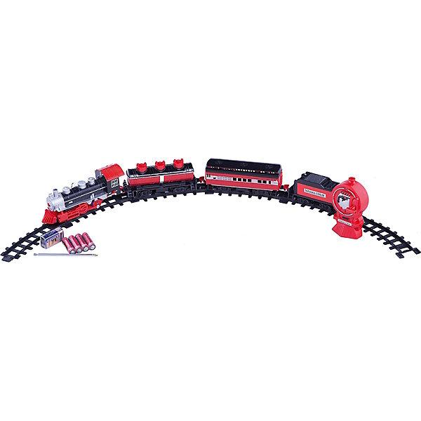 Железная дорога Классик р/у, Голубая стрелаЖелезные дороги<br>Железная дорога Классик р/у, Голубая стрела.<br><br>Характеристики:<br><br>• Комплектация: 16 сегментов пути, локомотив, 3 вагона, пульт управления<br>• Батарейки: для локомотива – 4 типа АА 1,5 В, для пульта управления – 1 типа 9В. (входят в комплект)<br>• Диаметр в собранном виде: 86 см.<br>• Длина пути: 270 см.<br>• Материал: пластик<br>• Упаковка: картонная коробка блистерного типа<br>• Размер упаковки: 53х6х31 см.<br><br>Железная дорога Классик со звуковыми, световыми эффектами и дистанционным управлением, безусловно, понравится юным любителям игр с железнодорожным транспортом. Железная дорога состоит из 16 сегментов пути, легко скрепляющихся между собой в круг диаметром 86 см. <br><br>При движении состава, его элементы светятся, он воспроизводит 4 реалистичных звука. С помощью пульта можно регулировать скорость движения состава. Набор упакован в коробку с ручкой, в которой его удобно хранить и переносить.<br><br>Железную дорогу Классик р/у, Голубая стрела можно купить в нашем интернет-магазине.<br><br>Ширина мм: 530<br>Глубина мм: 310<br>Высота мм: 55<br>Вес г: 1203<br>Возраст от месяцев: 36<br>Возраст до месяцев: 2147483647<br>Пол: Мужской<br>Возраст: Детский<br>SKU: 5400256