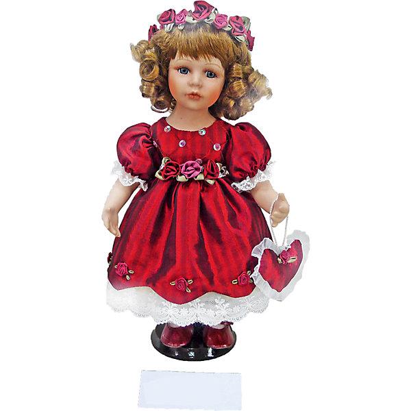 Фарфоровая кукла Аннет, Angel CollectionКуклы<br>Фарфоровая кукла Аннет, Angel Collection.<br><br>Характеристики:<br><br>• Высота куклы: 30,5 см.<br>• Материал: фарфор, текстиль.<br>• Упаковка: картонная коробка блистерного типа<br><br>Фарфоровая кукла Аннет, Angel Collection - это симпатичная принцесса высотой 30.5 см. Весь образ куклы тщательно продуман и детализирован. Аннет очень красива: у нее большие выразительные глаза, румяные щечки и густые русые кудри. Милая кукла одета в нарядное бордовое платье из атласа, украшенная жемчугом и кружевами, талия подчеркнута розами. В руках кукла держит сумочку в виде сердечка в тон к наряду. На голове принцессы одет великолепный ободок из цветов. Кукла установлена на специальную подставку. <br><br>Фарфоровая красавица Аннет - это не просто игрушка, а также украшение для интерьера или ценный экспонат коллекции. Каждая кукла в серии Angel Collection, обладает неповторимым образом - принцессы, феи, маленькие девочки, роскошные невесты и т.д. Изысканные наряды и очаровательная матовость фарфора превращают этих кукол в настоящее произведение искусства. Куклы Angel Collection сделаны из уникальной голубой глины, добываемой только в провинции Tai-Nan Shin, Тайвань.<br><br>Фарфоровую куклу Аннет, Angel Collection можно купить в нашем интернет-магазине.<br><br>Ширина мм: 145<br>Глубина мм: 320<br>Высота мм: 95<br>Вес г: 667<br>Возраст от месяцев: 36<br>Возраст до месяцев: 2147483647<br>Пол: Женский<br>Возраст: Детский<br>SKU: 5400272