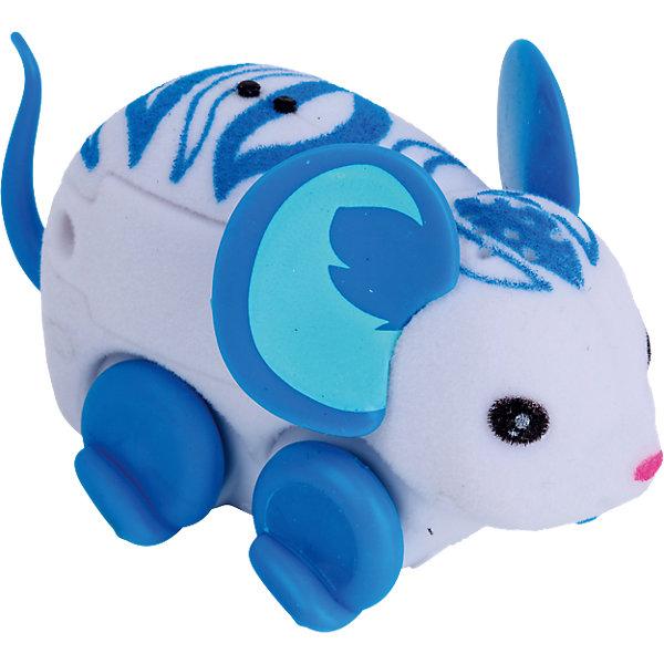 Интерактивная мышка Wild Beatz, Little Live Pets, MooseИнтерактивные животные<br>Характеристики товара:<br><br>• возраст от 5 лет;<br>• материал: пластик, флок;<br>• в комплекте: мышка, 3 батарейки;<br>• работает от 3 батареек LR44 (в комплекте);<br>• размер мышки 7,6х2,5х2,5 см;<br>• размер упаковки 22х16х5 см;<br>• вес упаковки 100 гр.;<br>• страна производитель: Китай.<br><br>Интерактивная мышка Moose Little Live Pets «Wild Beatz» - оригинальная мышка с голубыми узорами на спинке и голове и голубыми ушками. Мышка умеет двигаться, пищать и фыркать под музыку. Чтобы мышка начала движение, надо просто ее погладить. Когда мышка остается одна, она засыпает и отключается автоматически. Игрушка изготовлена из качественных материалов, безопасных для ребенка.<br><br>Интерактивную мышку Moose Little Live Pets «Wild Beatz» можно приобрести в нашем интернет-магазине.<br>Ширина мм: 224; Глубина мм: 160; Высота мм: 50; Вес г: 73; Возраст от месяцев: 60; Возраст до месяцев: 108; Пол: Унисекс; Возраст: Детский; SKU: 5400749;