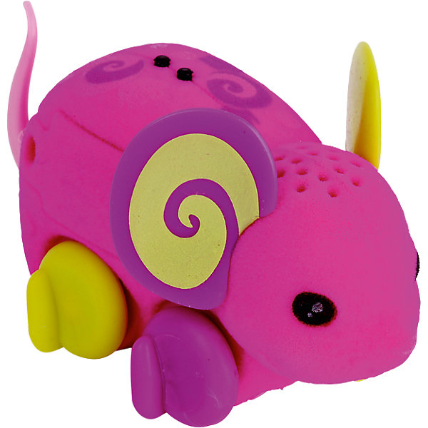 Интерактивная мышка Lolly Rapper, Little Live Pets, MooseИнтерактивные животные<br>Характеристики товара:<br><br>• возраст от 5 лет;<br>• материал: пластик, флок;<br>• в комплекте: мышка, 3 батарейки;<br>• работает от 3 батареек LR44 (в комплекте);<br>• размер мышки 7,6х2,5х2,5 см;<br>• размер упаковки 22х16х5 см;<br>• вес упаковки 100 гр.;<br>• страна производитель: Китай.<br><br>Интерактивная мышка Moose Little Live Pets «Lolly Rapper» - оригинальная розовая мышка с узорами на спинке и желто-фиолетовыми ушками. Мышка умеет двигаться, пищать и фыркать под музыку. Чтобы мышка начала движение, надо просто ее погладить. Когда мышка остается одна, она засыпает и отключается автоматически. Игрушка изготовлена из качественных материалов, безопасных для ребенка.<br><br>Интерактивную мышку Moose Little Live Pets «Lolly Rapper» можно приобрести в нашем интернет-магазине.<br><br>Ширина мм: 225<br>Глубина мм: 161<br>Высота мм: 53<br>Вес г: 73<br>Возраст от месяцев: 60<br>Возраст до месяцев: 108<br>Пол: Унисекс<br>Возраст: Детский<br>SKU: 5400752
