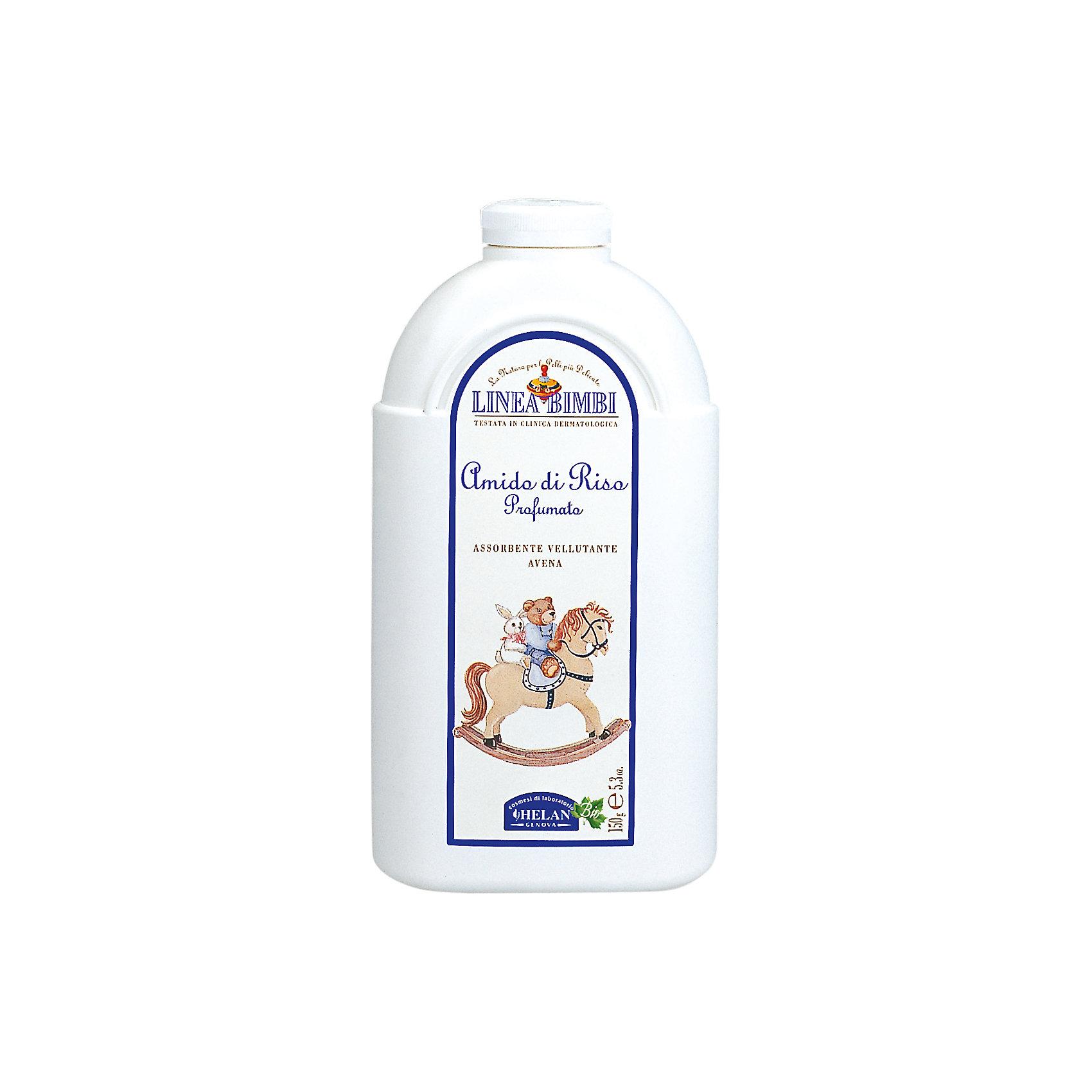 Присыпка мягкая для детей, Linea Bimbi, 75 гр., HELANКосметика для младенцев<br>Присыпка мягкая для детей, Linea Bimbi, 75 гр., HELAN (Хелан)<br><br>Характеристики:<br><br>• смягчает и освежает кожу<br>• предотвращает возникновение опрелостей<br>• не содержит парафинов, нефтепродуктов, синтетических консервантов и красителей<br>• не вызывает аллергии<br>• содержит овсяную муку, крахмал, масло оливы и алоэ-вера<br>• серия: Купание без слез<br>• объем: 75 грамм<br>• размер упаковки: 11,5х5х8 см<br>• вес: 118 грамм<br><br>Рисовая присыпка Linea Bimbi бережно ухаживает за кожей малыша с самого рождения. Крахмал смягчает и освежает нежную кожу. В состав присыпки входит овсяная мука - она разглаживает кожу, смягчает ее и препятствует появлению опрелостей. Масло оливы, ореха и экстракт алоэ-вера смягчают кожу, делая ее мягкой и бархатистой. Отдушка, созданная с учетом чувствительности крохи, не содержит алкоголь. В основе отдушки - экстракты трав и фруктов, настоянные на воде. Они придают приятный цитрусовый аромат и освежают кожу. <br><br>Для малыша очень важное сохранить защитный слой кожи. С этим хорошо справятся масла ореха и оливы. Они создают дополнительный барьер, обеспечивая оптимальный уровень влаги. Все растения выращены без применения удобрений и химических пестицидов.<br><br>Присыпку мягкая для детей, Linea Bimbi, 75 гр., HELAN (Хелан) вы можете купить в нашем интернет-магазине.<br><br>Ширина мм: 80<br>Глубина мм: 50<br>Высота мм: 115<br>Вес г: 118<br>Возраст от месяцев: -2147483648<br>Возраст до месяцев: 2147483647<br>Пол: Унисекс<br>Возраст: Детский<br>SKU: 5401692