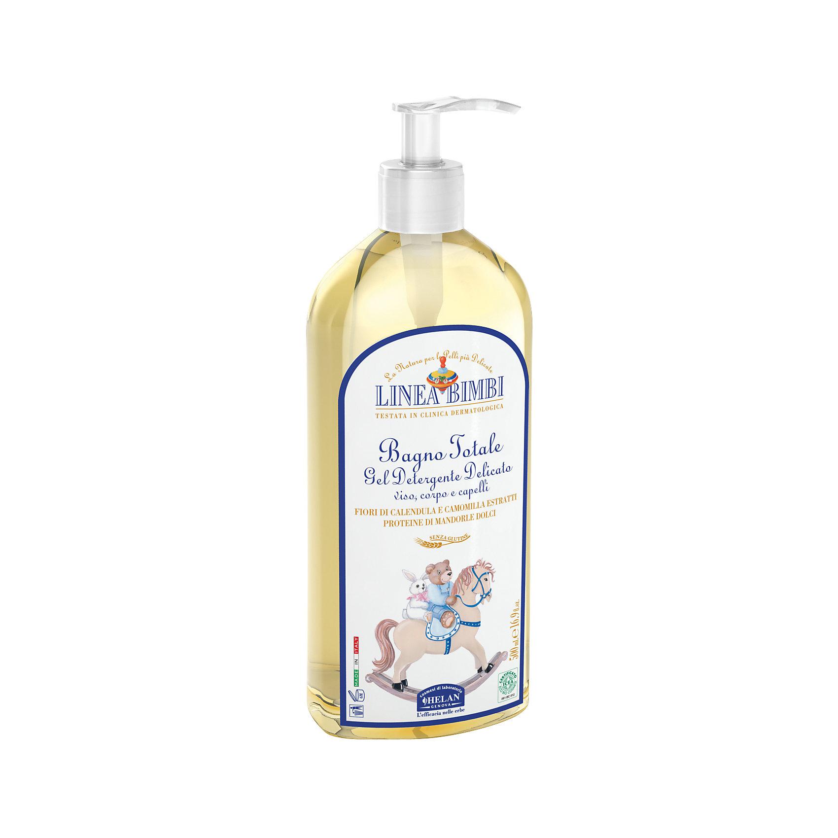 Шампунь-гель детский для волос и тела Linea Bimbi, 500 мл., HELANШампуни<br>Шампунь-гель детский для волос и тела Linea Bimbi, 500 мл., HELAN (Хелан)<br><br>Характеристики:<br><br>• бережно очищает волосы и кожу головы <br>• сохраняет естественный уровень pH<br>• не сушит кожу<br>• не вызывает раздражения слизистой глаз<br>• подходит для волос и тела<br>• удобный дозатор<br>• не содержит сульфатов, консервантов и красителей<br>• содержит экстракт календулы, экстракт ромашки и масло овса<br>• объем: 500 мл<br>• размер упаковки: 22х5х9 см<br>• вес: 568 грамм<br><br>Детский шампунь Linea Bimbi бережно очищает волосы и кожу головы малыша с рождения. Шампунь содержит масло овса, которое питает и способствует укреплению волос. Шампунь сохраняет естественный pH кожи головы, не вызывая раздражения. Удобный дозатор позволит вам отмерить необходимое количество шампуня при использовании. Продукция Helan изготовлена без использования консервантов, красителей и сульфатов, а активные компоненты созданы из растений, выращенных без применения химикатов, опасных для здоровья крохи.<br><br>Шампунь-гель детский для волос и тела Linea Bimbi, 500 мл., HELAN (Хелан) можно купить в нашем интернет-магазине.<br><br>Ширина мм: 90<br>Глубина мм: 50<br>Высота мм: 220<br>Вес г: 568<br>Возраст от месяцев: -2147483648<br>Возраст до месяцев: 2147483647<br>Пол: Унисекс<br>Возраст: Детский<br>SKU: 5401698