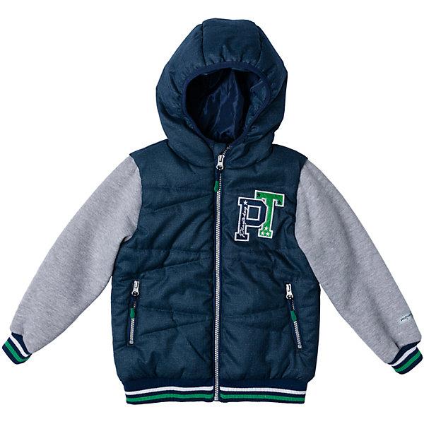 Куртка для мальчика PlayTodayВерхняя одежда<br>Характеристики товара:<br><br>• цвет: разноцветный<br>• состав: 100% полиэстер, подкладка: 100% полиэстер<br>• утеплитель: 100% полиэстер, 150 г/м2<br>• температурный режим: от +5°С до +15°С<br>• декорирована вышивкой<br>• карманы<br>• защита подбородка<br>• молния<br>• эластичные манжеты<br>• светоотражающие элементы<br>• капюшон<br>• коллекция: весна-лето 2017<br>• страна бренда: Германия<br>• страна производства: Китай<br><br>Популярный бренд PlayToday выпустил новую коллекцию! Вещи из неё продолжают радовать покупателей удобством, стильным дизайном и продуманным кроем. Дети носят их с удовольствием. PlayToday - это линейка товаров, созданная специально для детей. Дизайнеры учитывают новые веяния моды и потребности детей. Порадуйте ребенка обновкой от проверенного производителя!<br>Такая демисезонная куртка обеспечит ребенку комфорт благодаря качественному материалу и продуманному крою. С помощью этой модели можно удобно одеться по погоде. Очень модная модель! Отлично подходит для переменной погоды межсезонья.<br><br>Куртку для мальчика от известного бренда PlayToday можно купить в нашем интернет-магазине.<br><br>Ширина мм: 356<br>Глубина мм: 10<br>Высота мм: 245<br>Вес г: 519<br>Цвет: белый<br>Возраст от месяцев: 24<br>Возраст до месяцев: 36<br>Пол: Мужской<br>Возраст: Детский<br>Размер: 98,128,122,116,110,104<br>SKU: 5401901